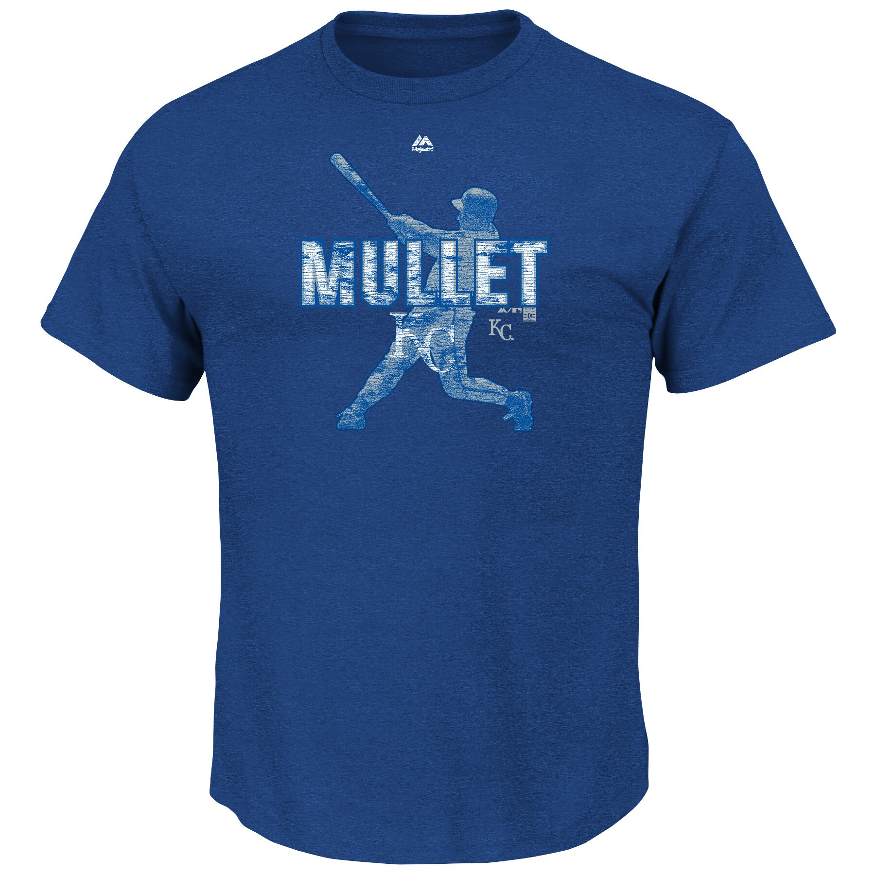 George Brett Kansas City Royals Majestic Cooperstown Emotion Evoked T-Shirt - Royal