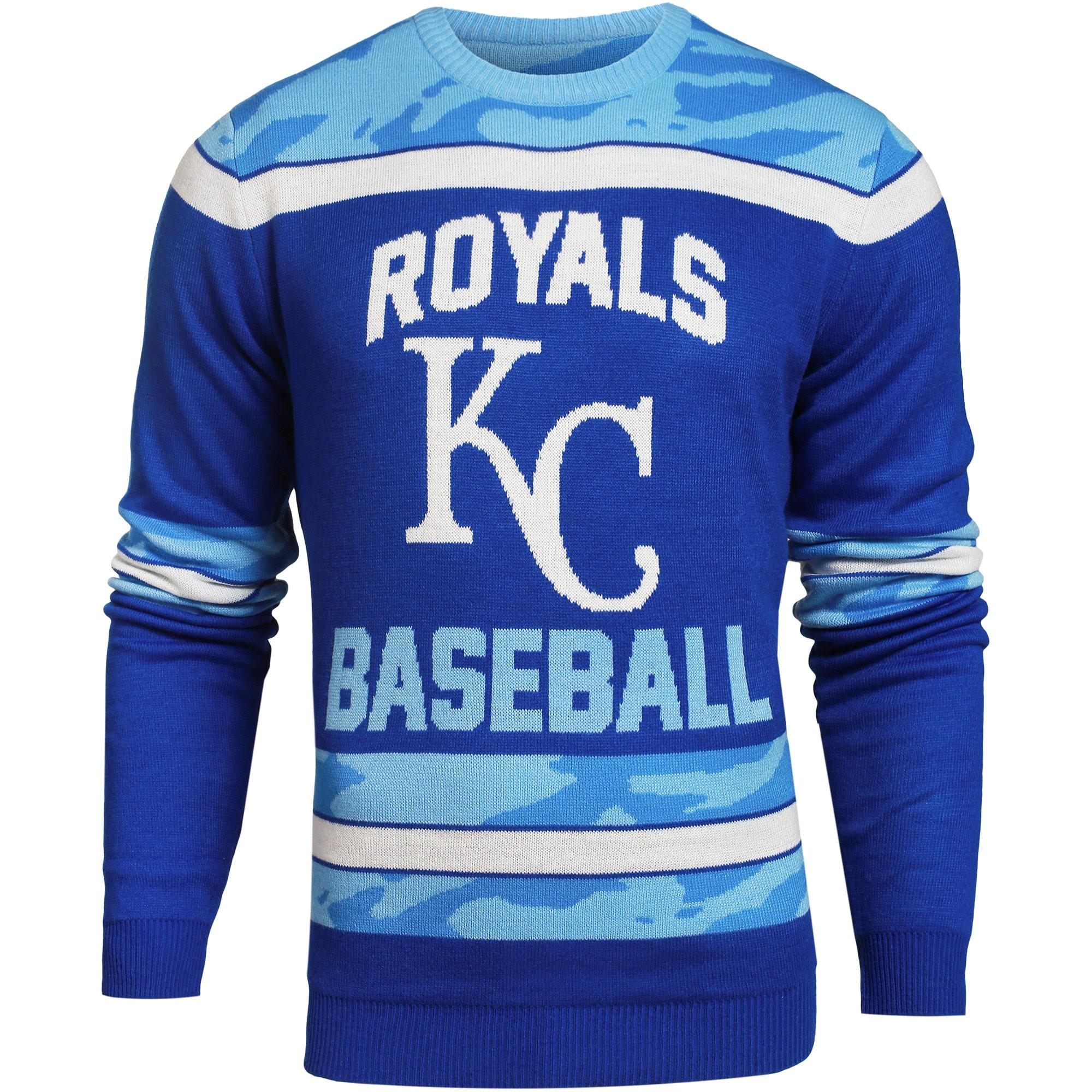 Kansas City Royals Camouflage Team Sweater - Royal