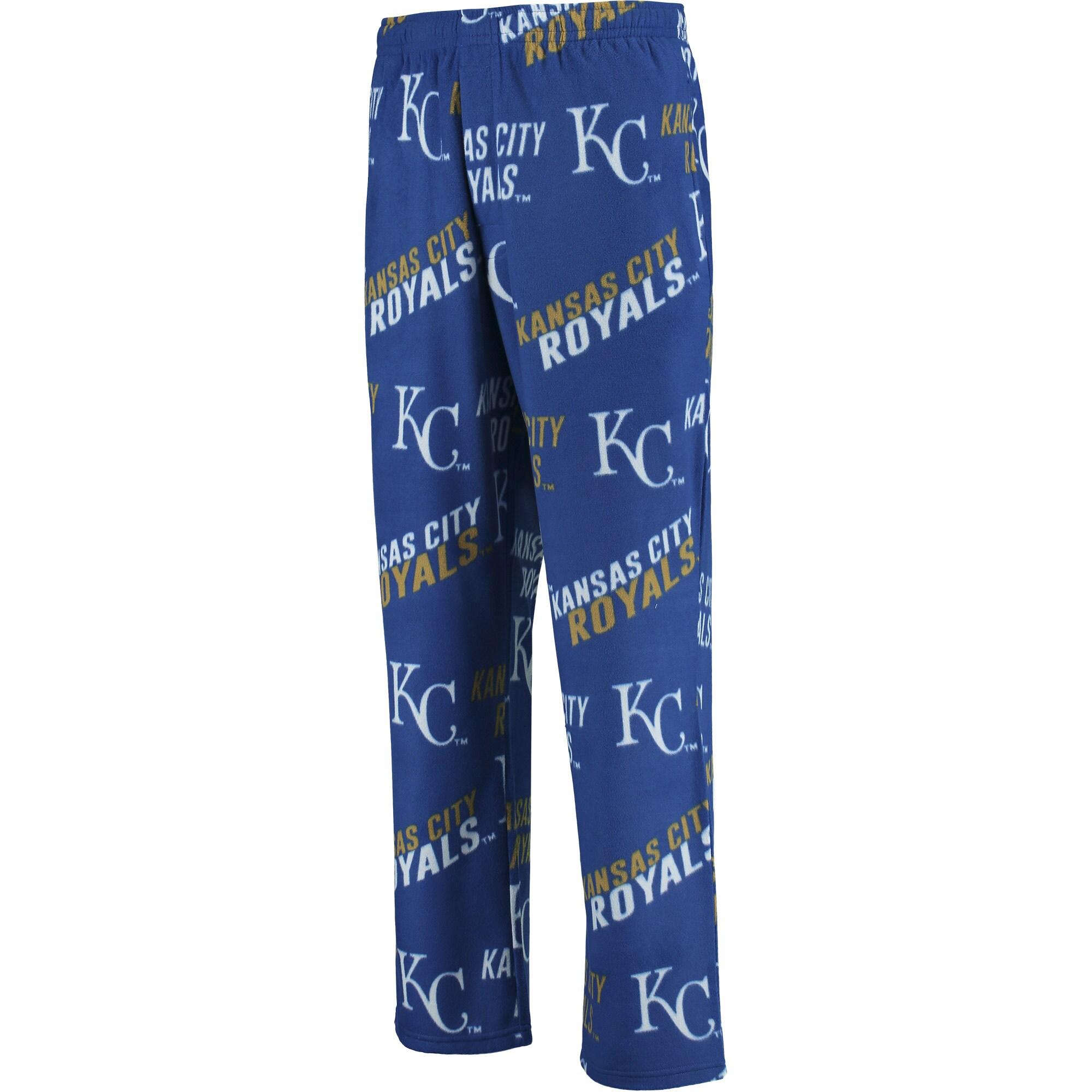Kansas City Royals Concepts Sport Wild Card Fleece Lounge Pants - Royal
