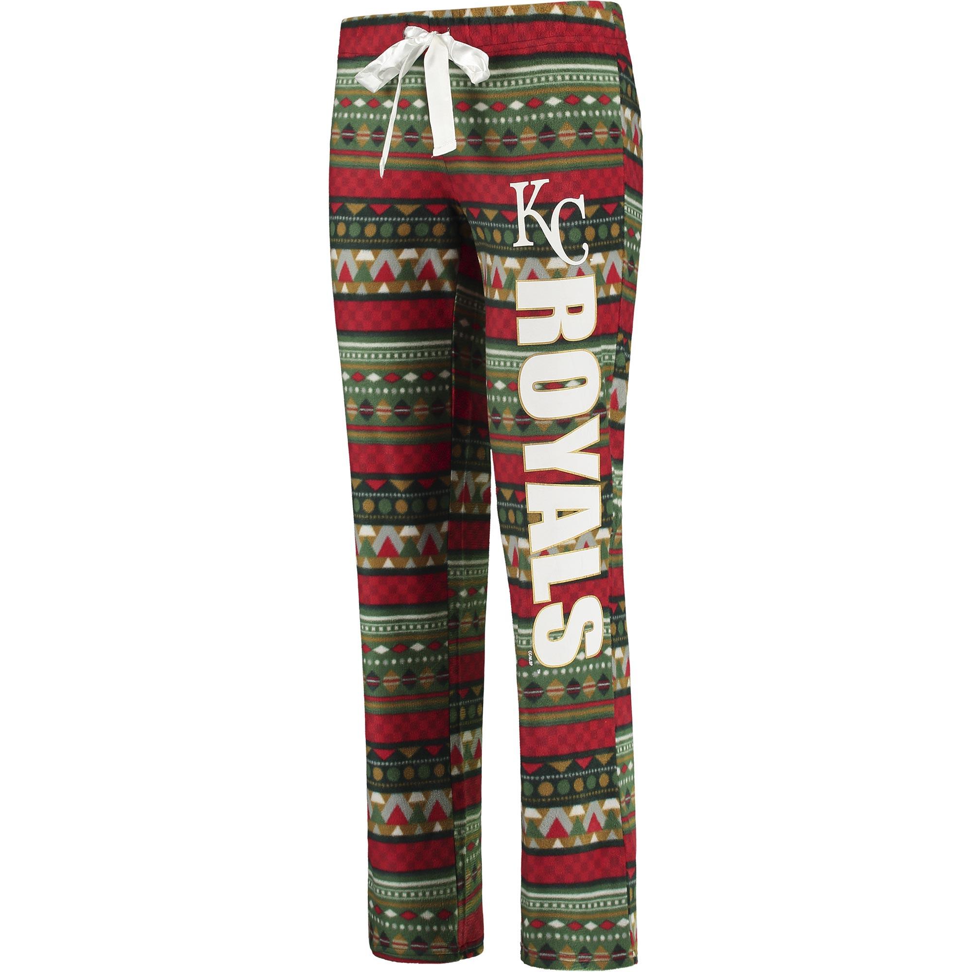 Kansas City Royals Concepts Sport Women's Holiday Sleep Pants - Multi