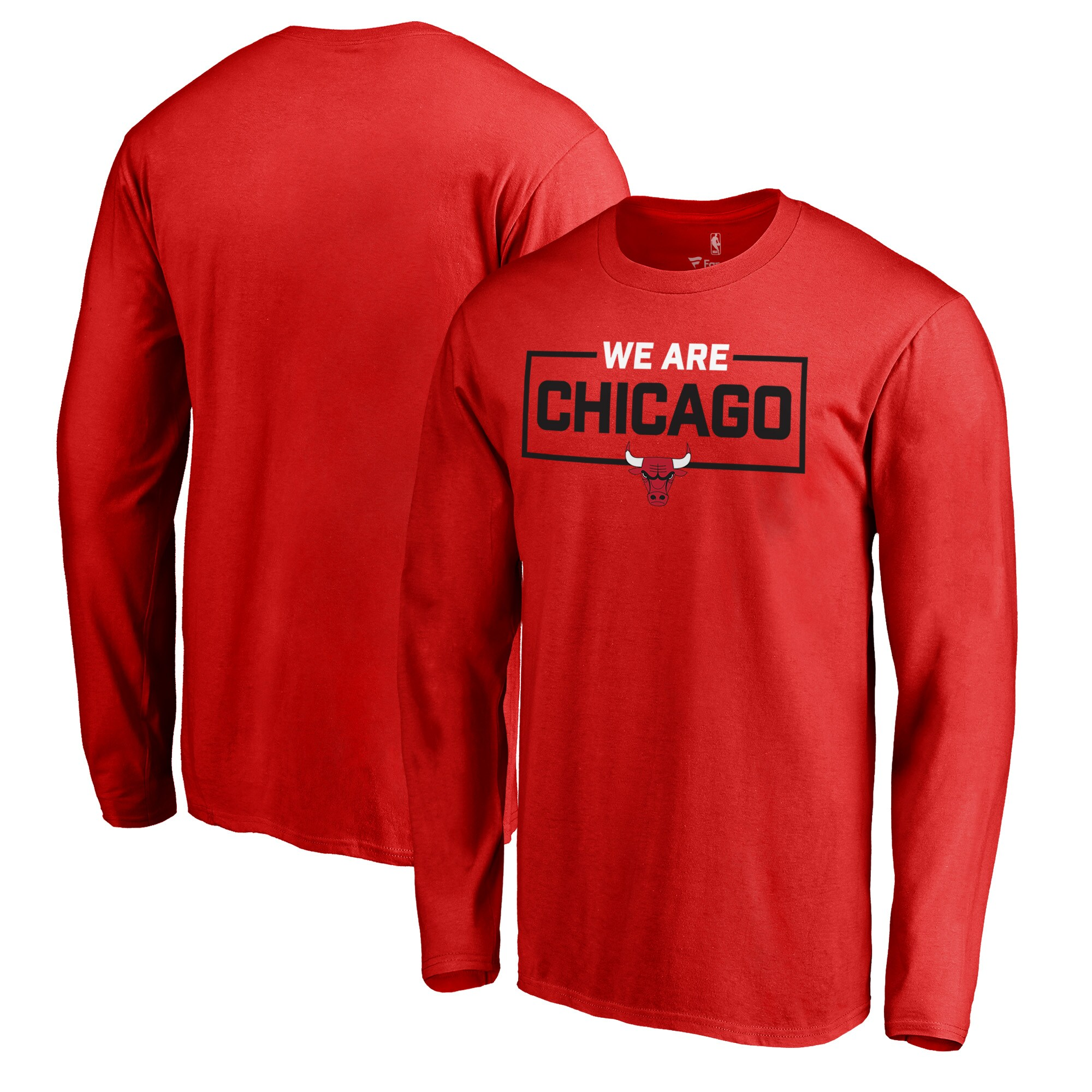 Chicago Bulls Fanatics Branded We Are Iconic Collection Long Sleeve T-Shirt - Red