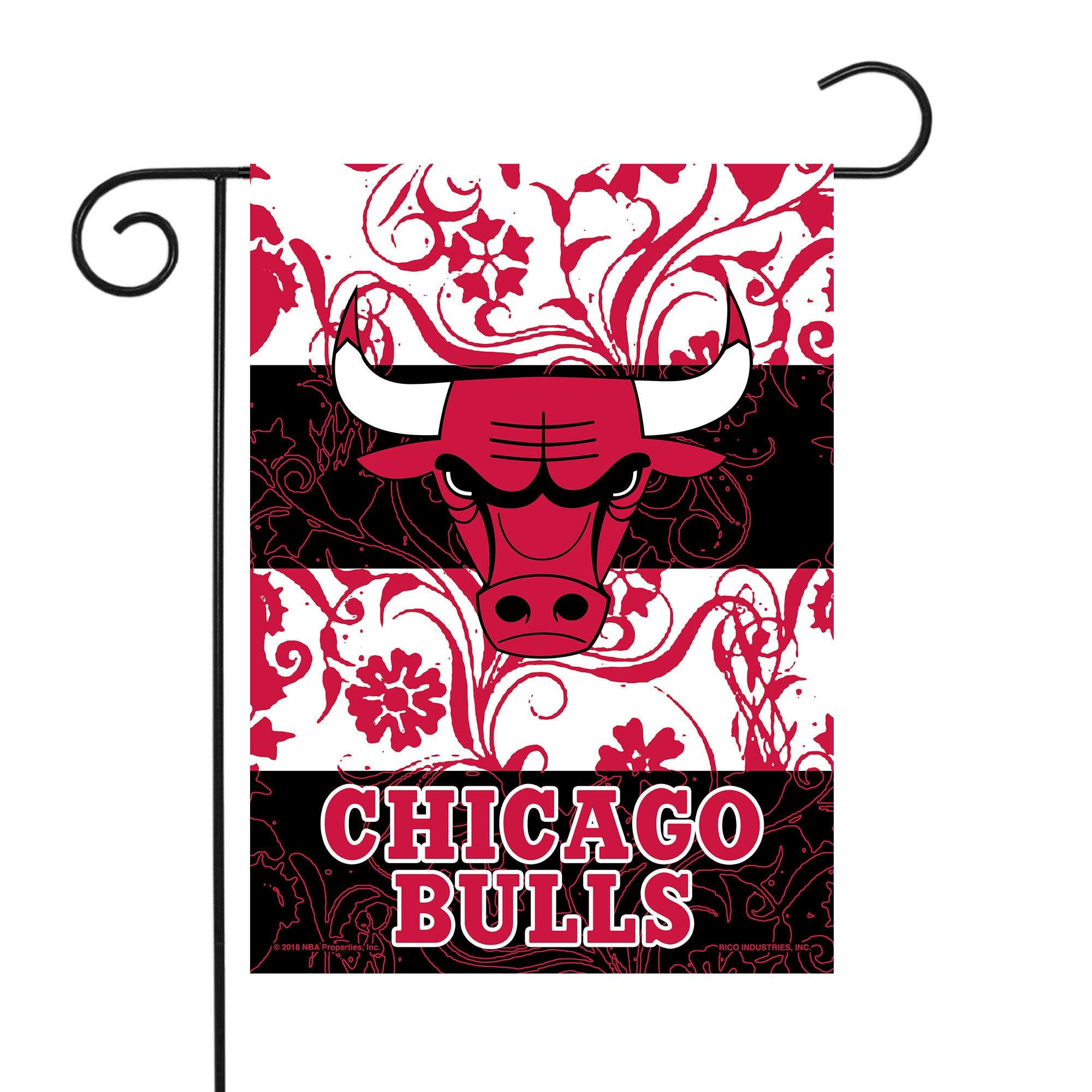 "Chicago Bulls Sparo 13"" x 18"" Double-Sided Garden Flag with Pole"