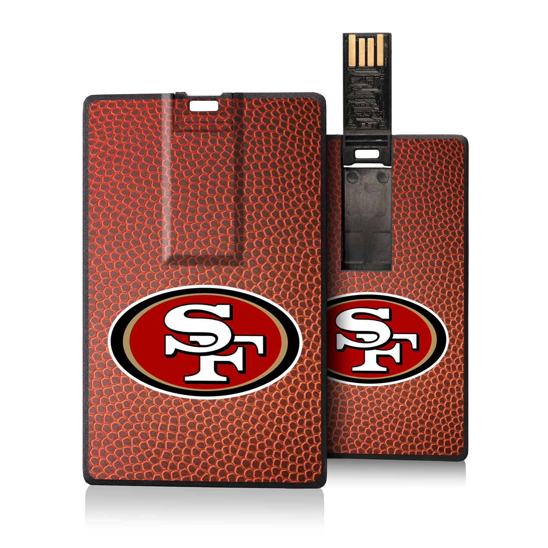 San Francisco 49ers Football Design Credit Card USB Drive