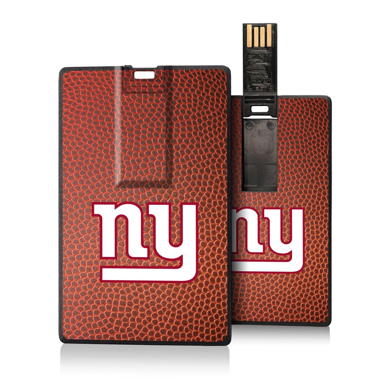 New York Giants Football Design Credit Card USB Drive