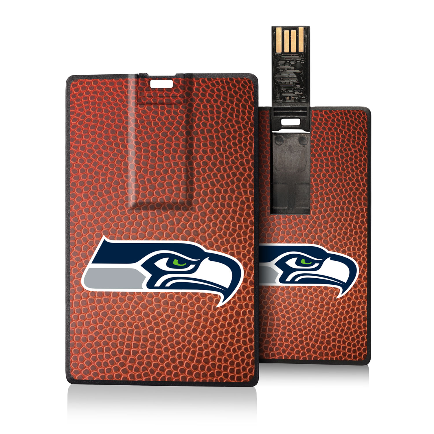Seattle Seahawks Football Design Credit Card USB Drive