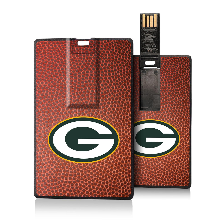 Green Bay Packers Football Design Credit Card USB Drive
