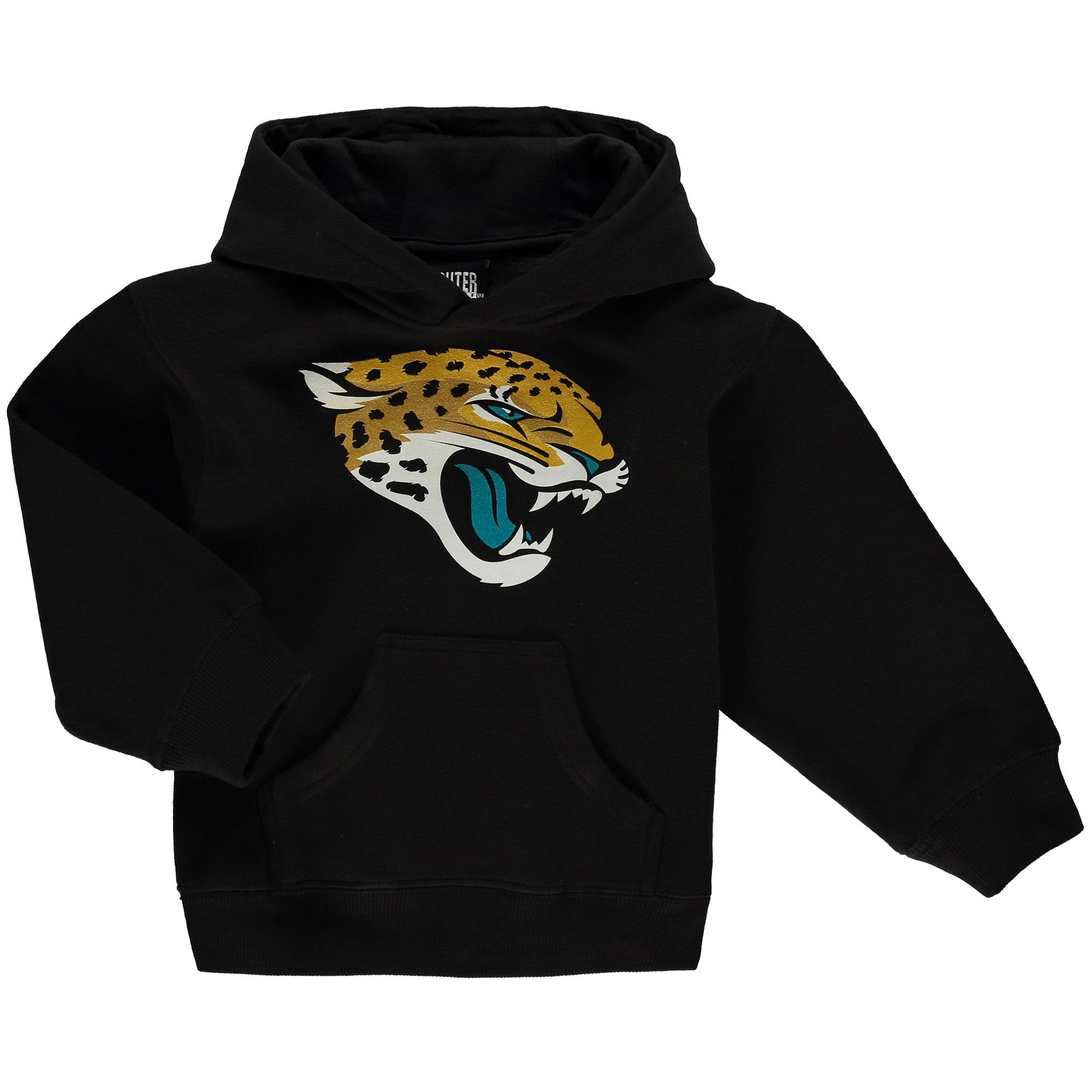 Jacksonville Jaguars Preschool Team Logo Pullover Hoodie - Black