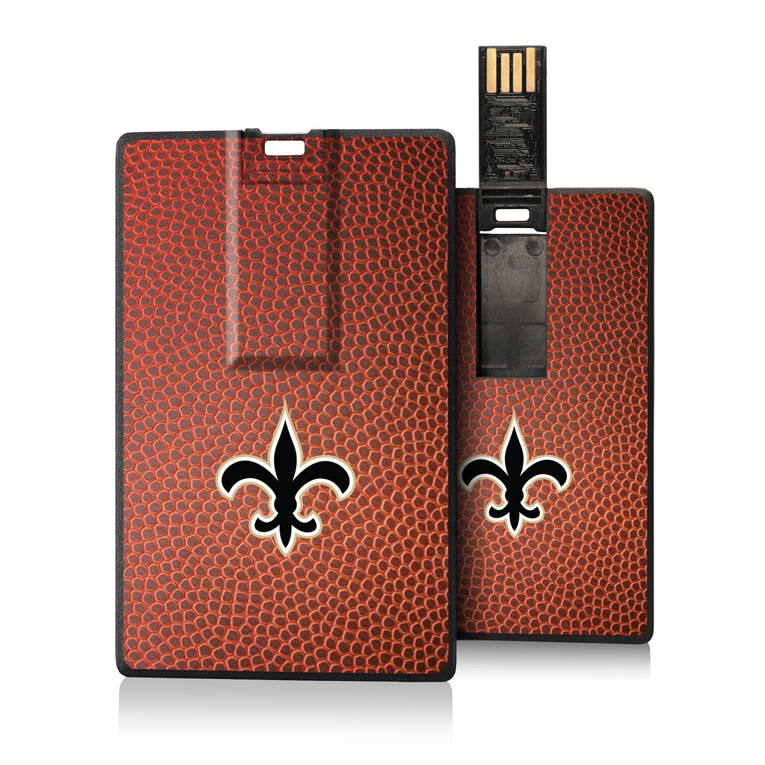 New Orleans Saints Football Design Credit Card USB Drive