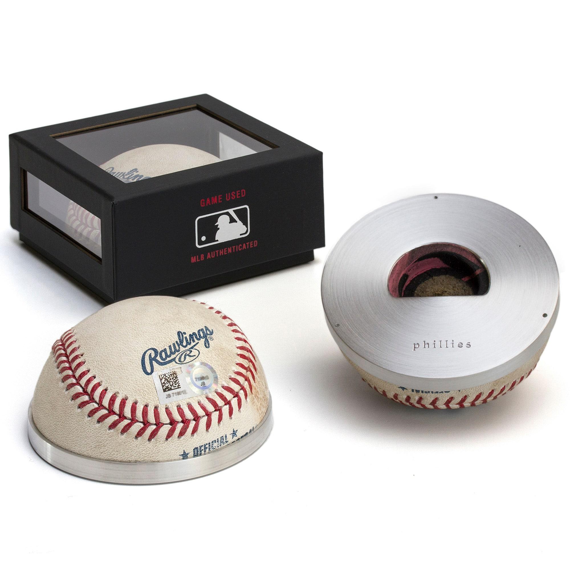Philadelphia Phillies Tokens & Icons Game-Used Half Baseball Bottle Opener