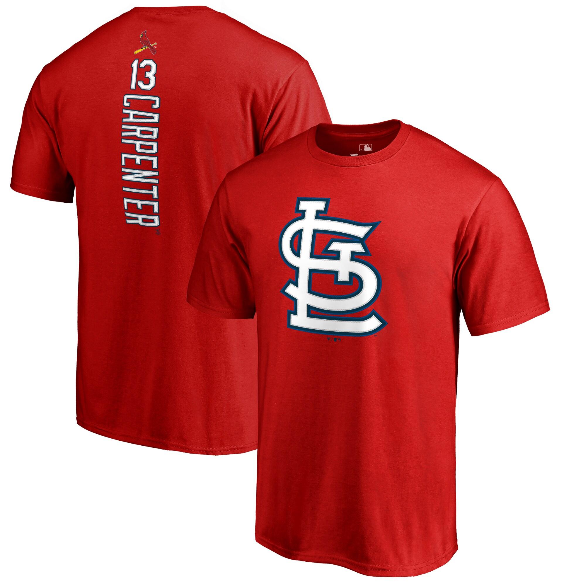 Matt Carpenter St. Louis Cardinals Backer T-Shirt - Red