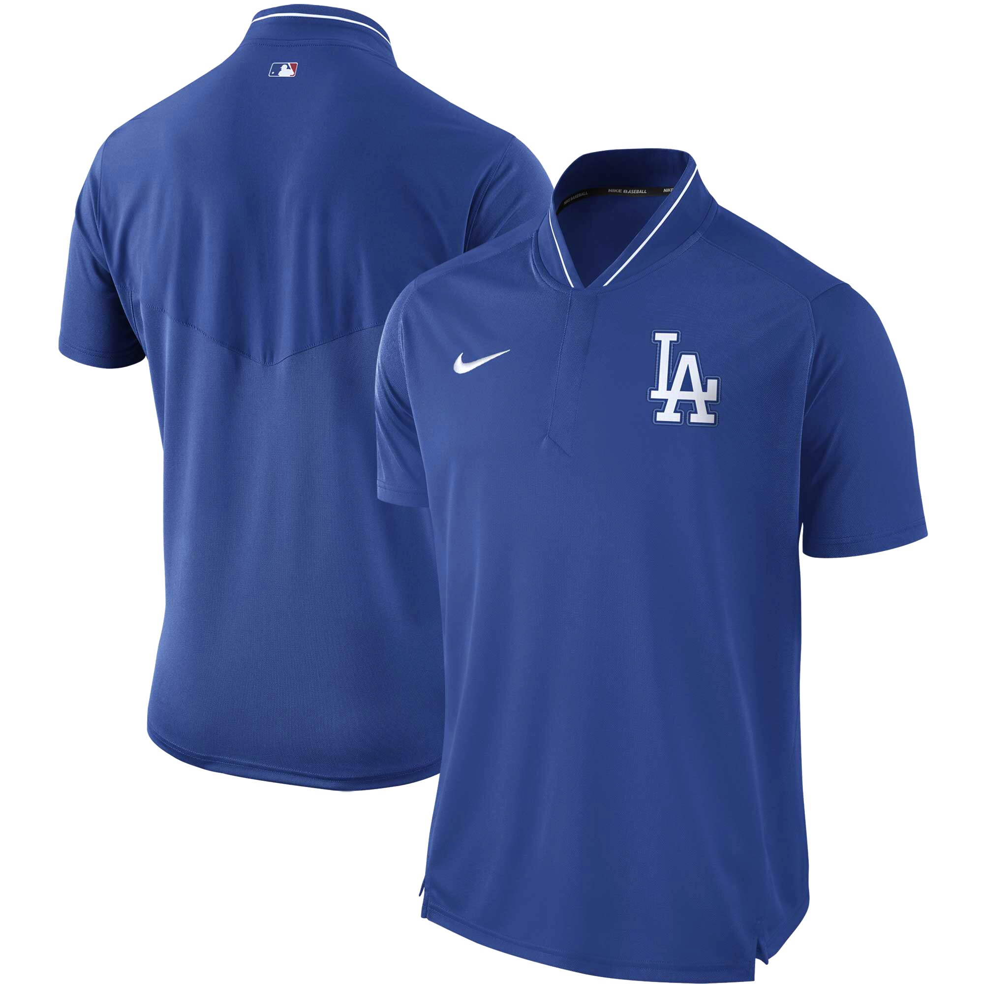 Los Angeles Dodgers Nike Authentic Collection Elite Performance Polo - Royal