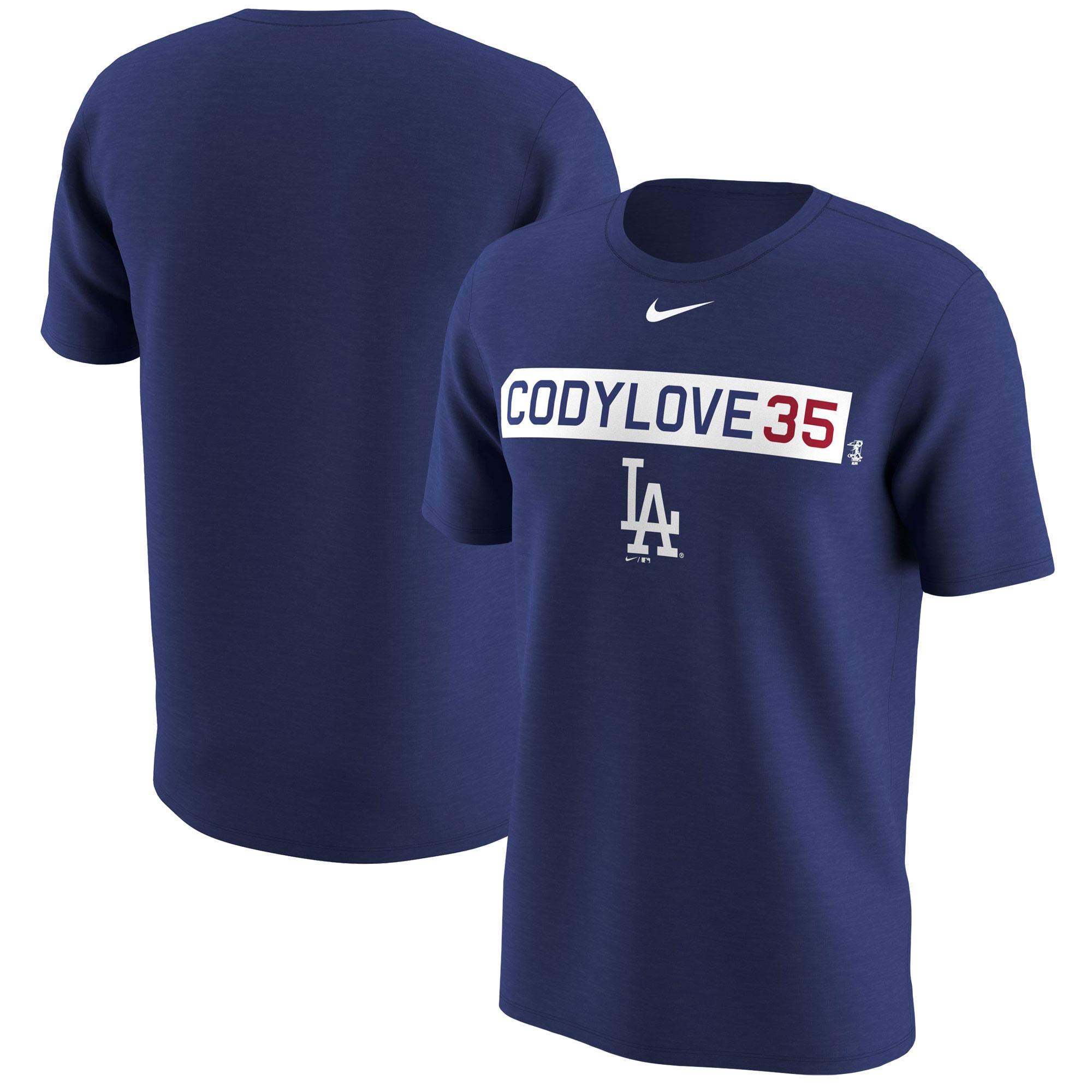 Cody Bellinger Los Angeles Dodgers Nike Legend Player Nickname Name & Number T-Shirt - Royal