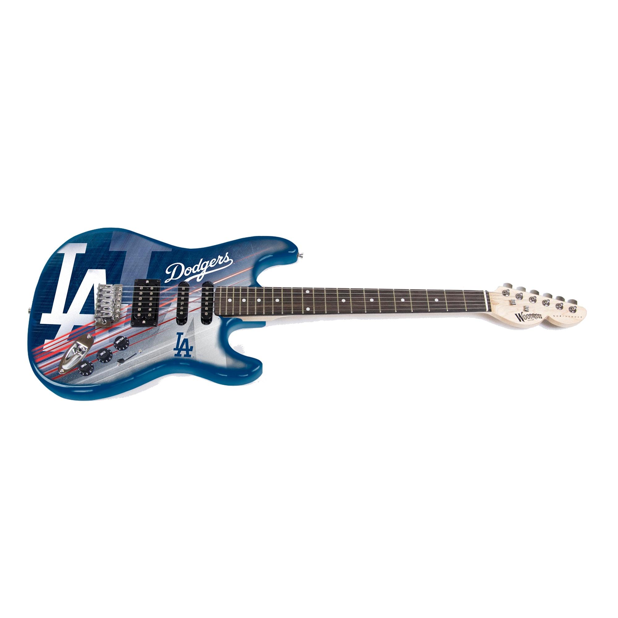 Los Angeles Dodgers Woodrow NorthEnder Guitar Series II