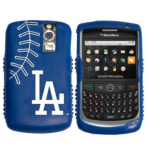 Los Angeles Dodgers BlackBerry Storm Cashmere Silicone Case - Royal