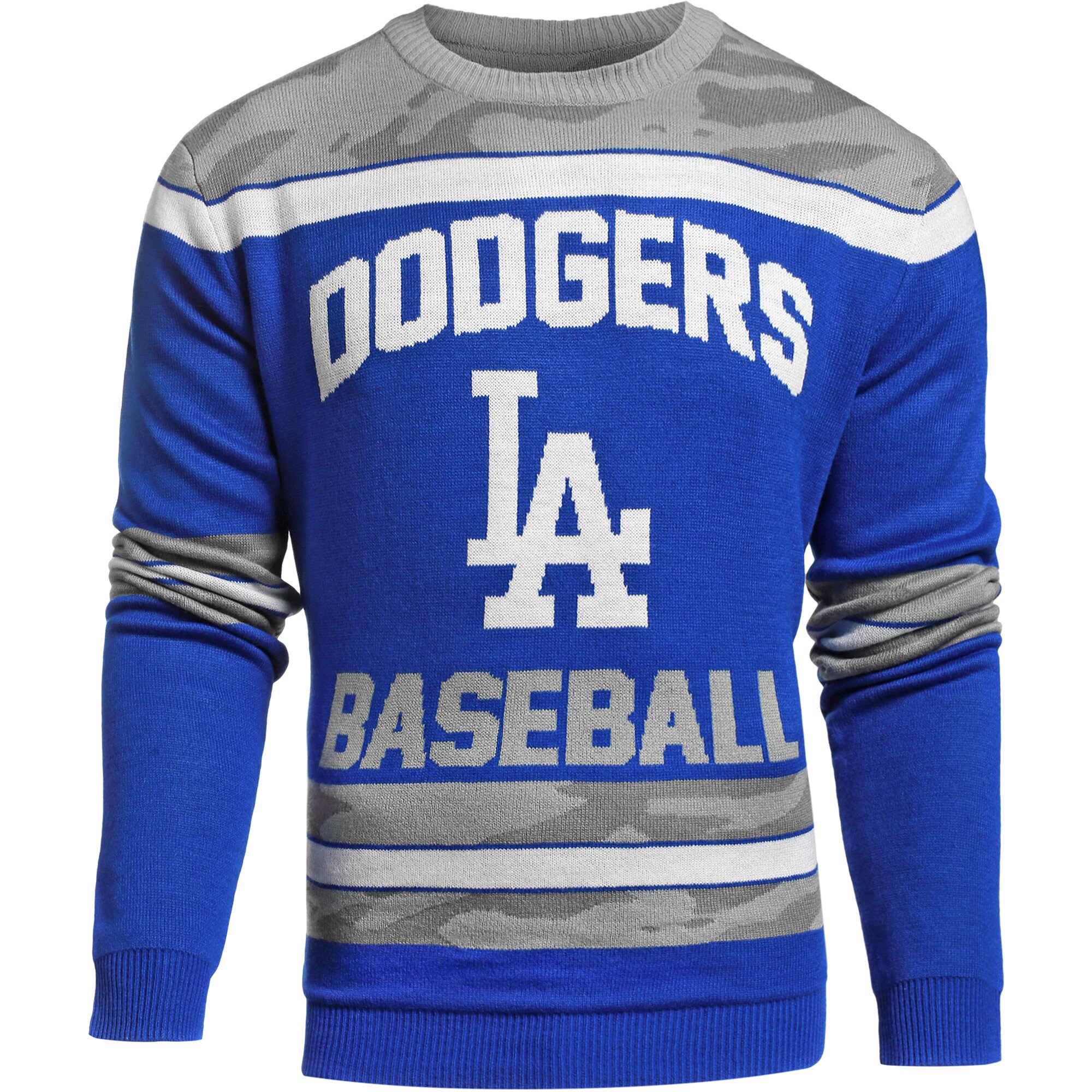 Los Angeles Dodgers Camouflage Team Sweater - Royal