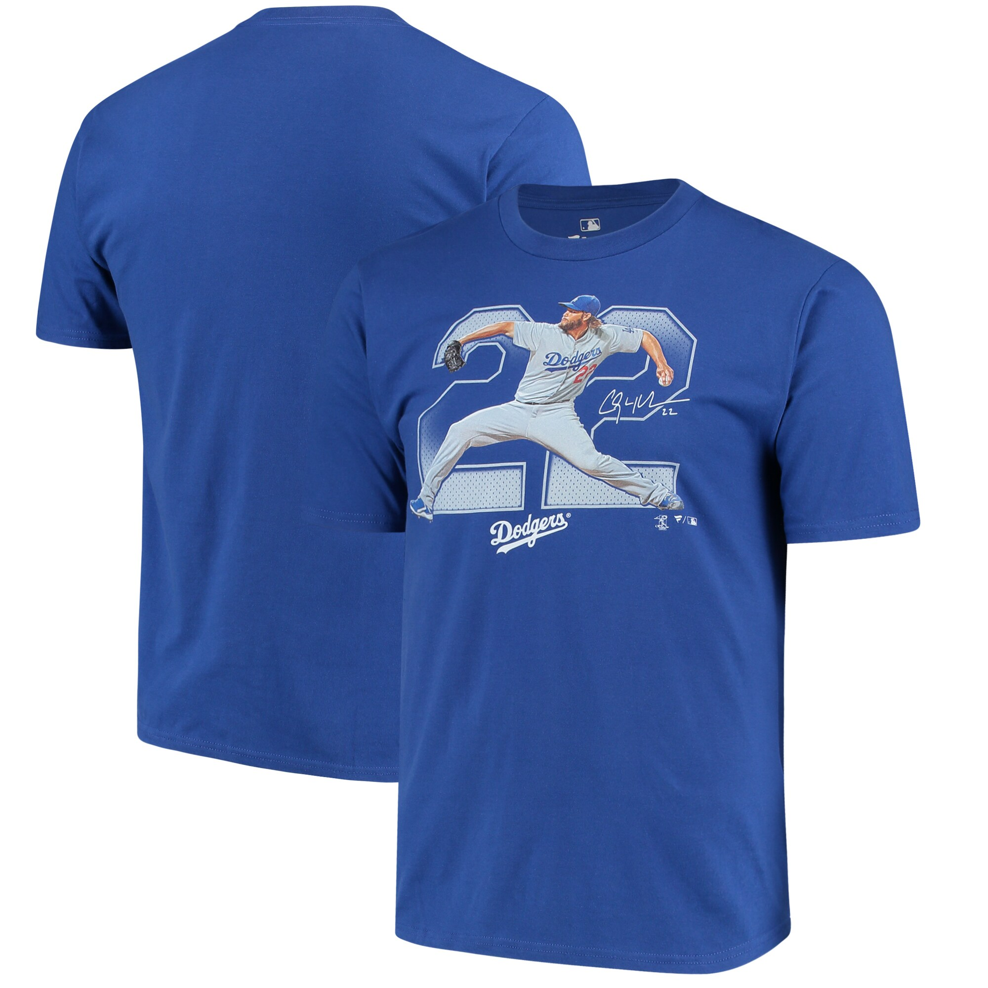 Clayton Kershaw Los Angeles Dodgers Fanatics Branded Power House T-Shirt - Royal