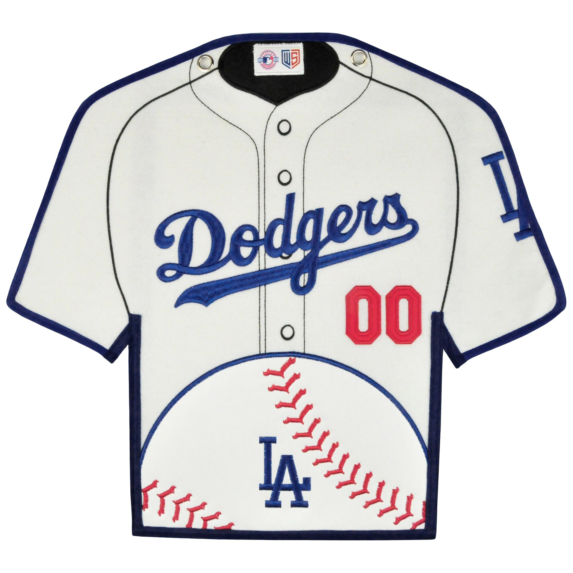 Los Angeles Dodgers 14'' x 22'' Jersey Traditions Banner - White/Blue