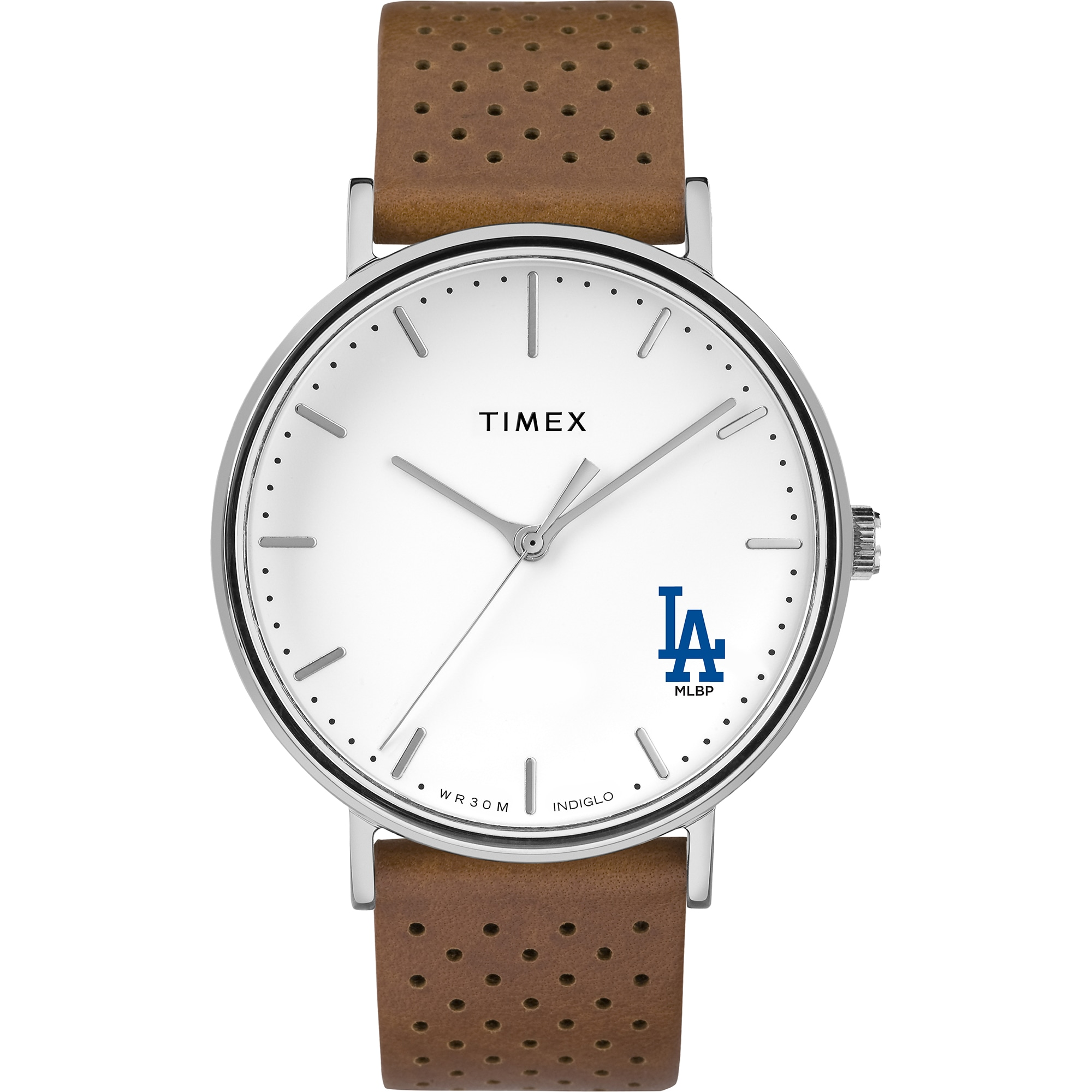 Los Angeles Dodgers Timex Bright Whites Tribute Collection Watch