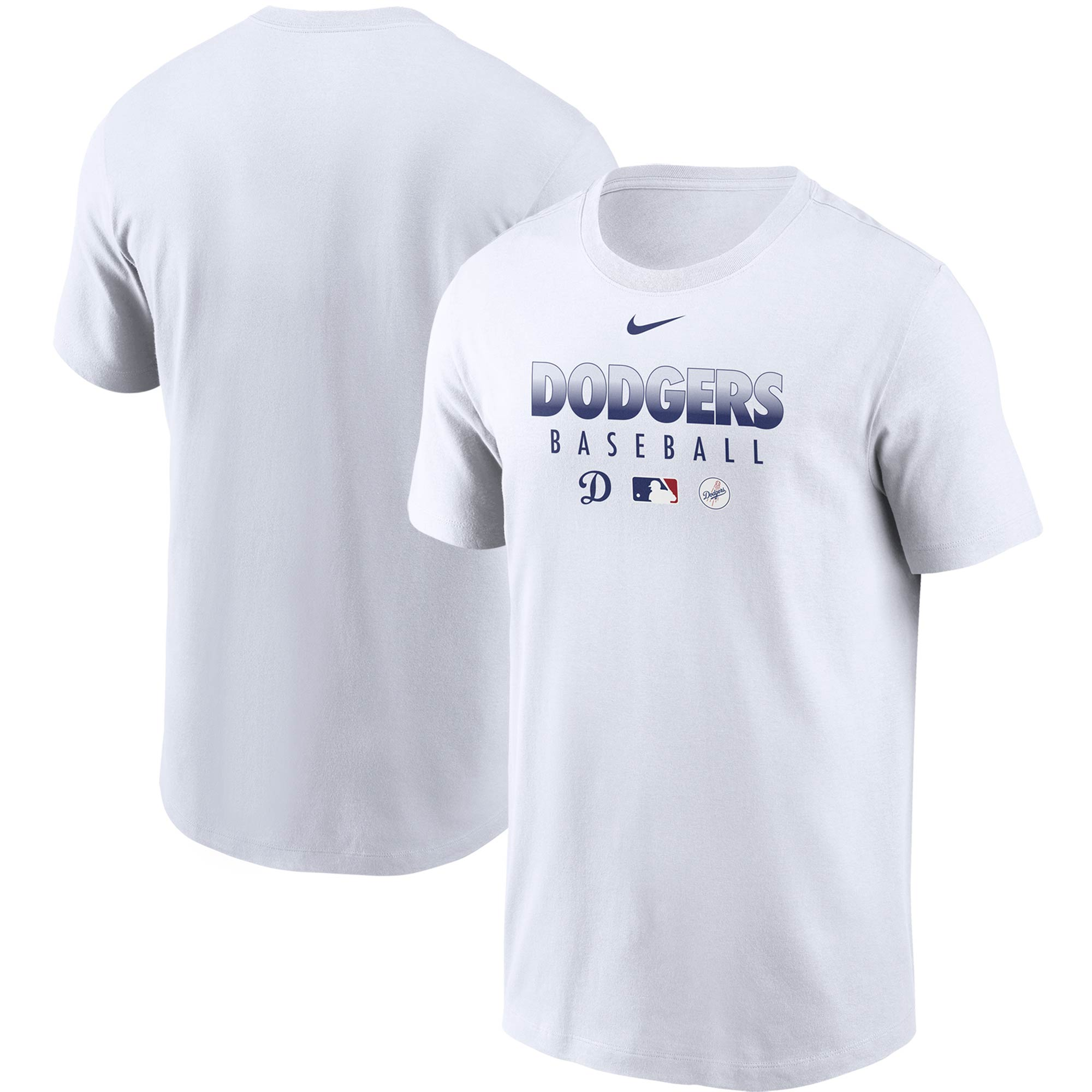 Los Angeles Dodgers Nike Authentic Collection Team Performance T-Shirt - White