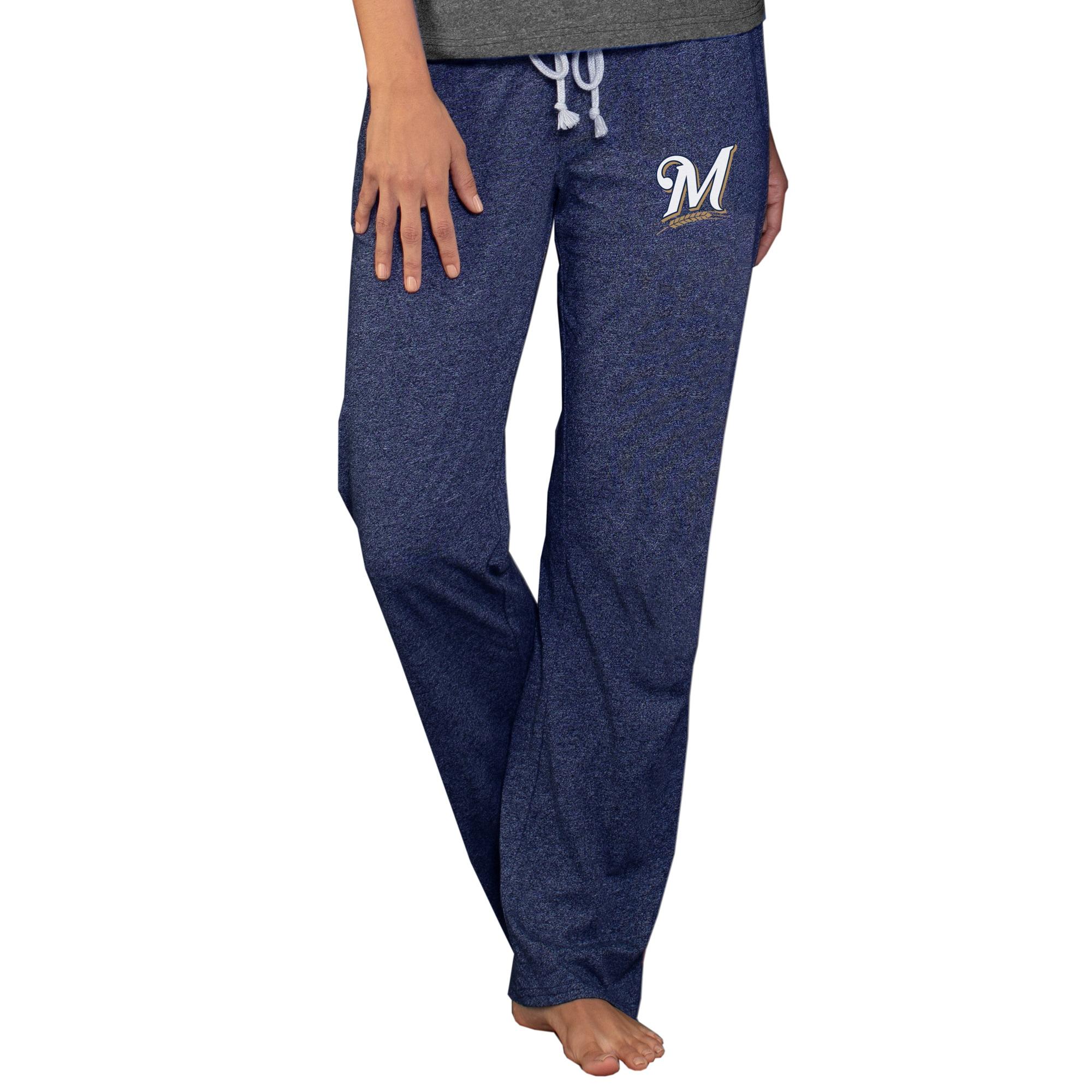 Milwaukee Brewers Concepts Sport Women's Quest Knit Pants - Navy