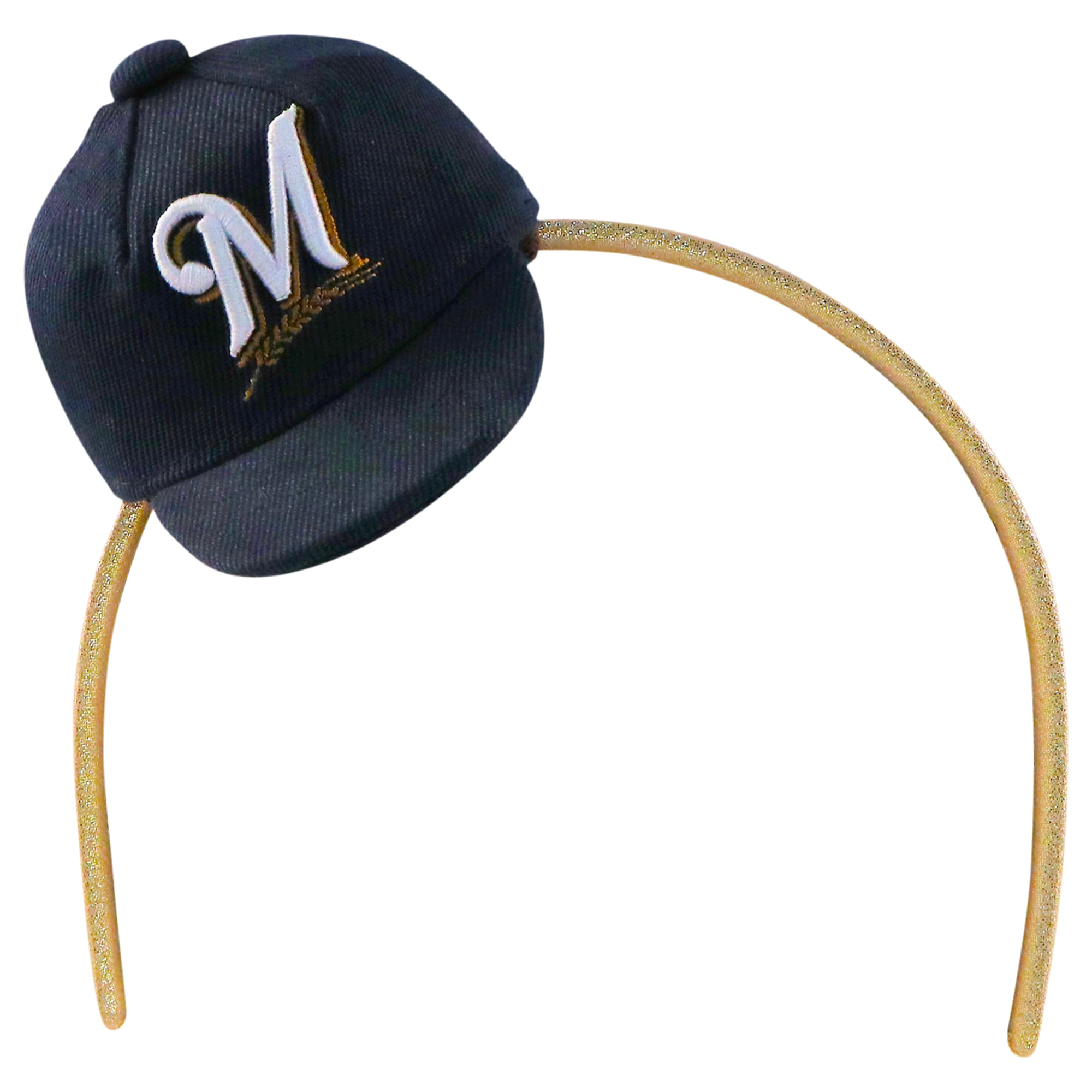 Milwaukee Brewers Women's Team Toppers Headband - Blue