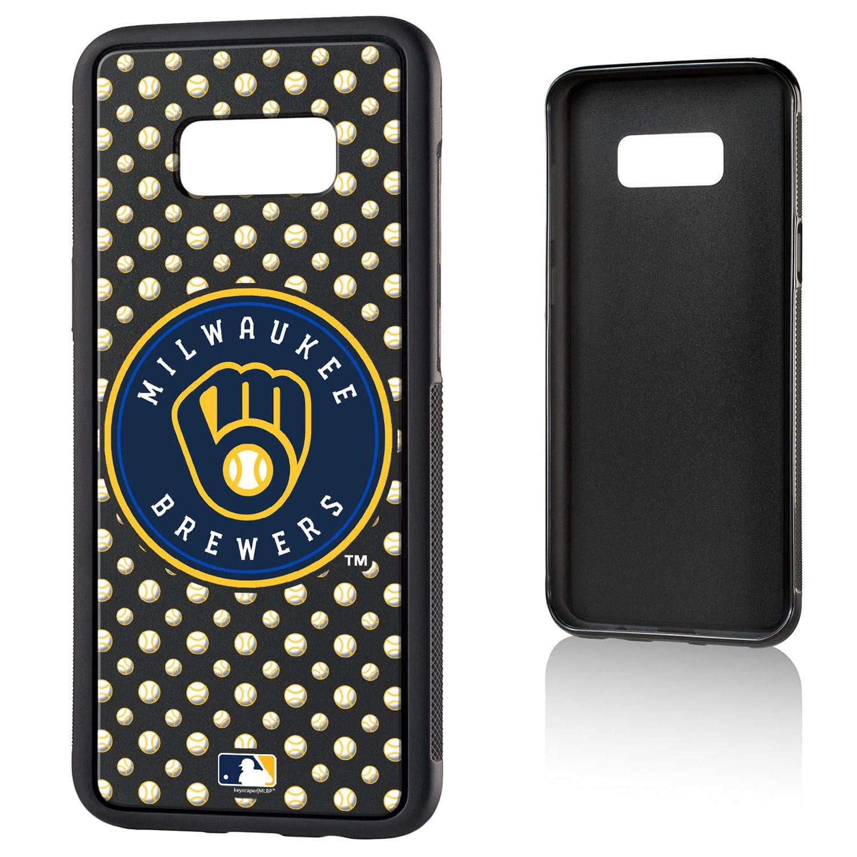 Milwaukee Brewers Galaxy S8 Plus Baseball Bump Case
