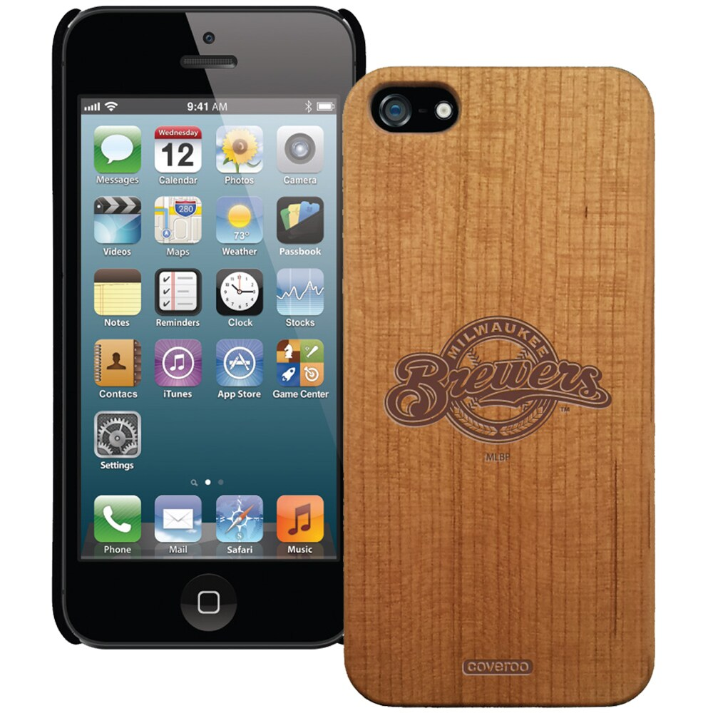 Milwaukee Brewers Wooden iPhone 5 Primary Case