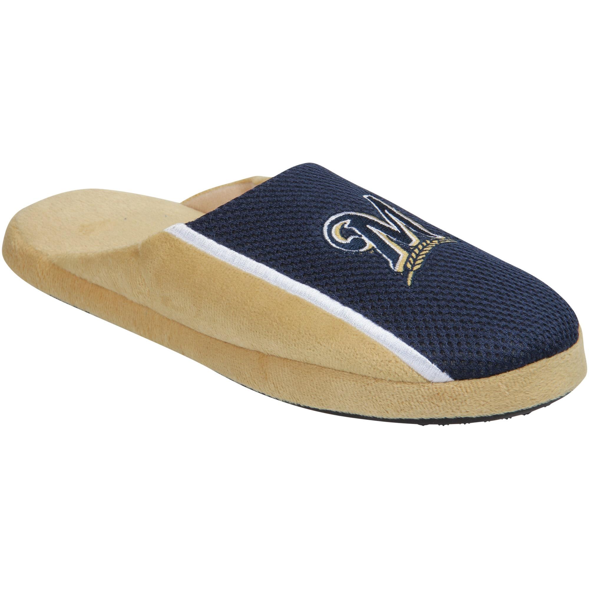 Milwaukee Brewers Jersey Slide Slippers