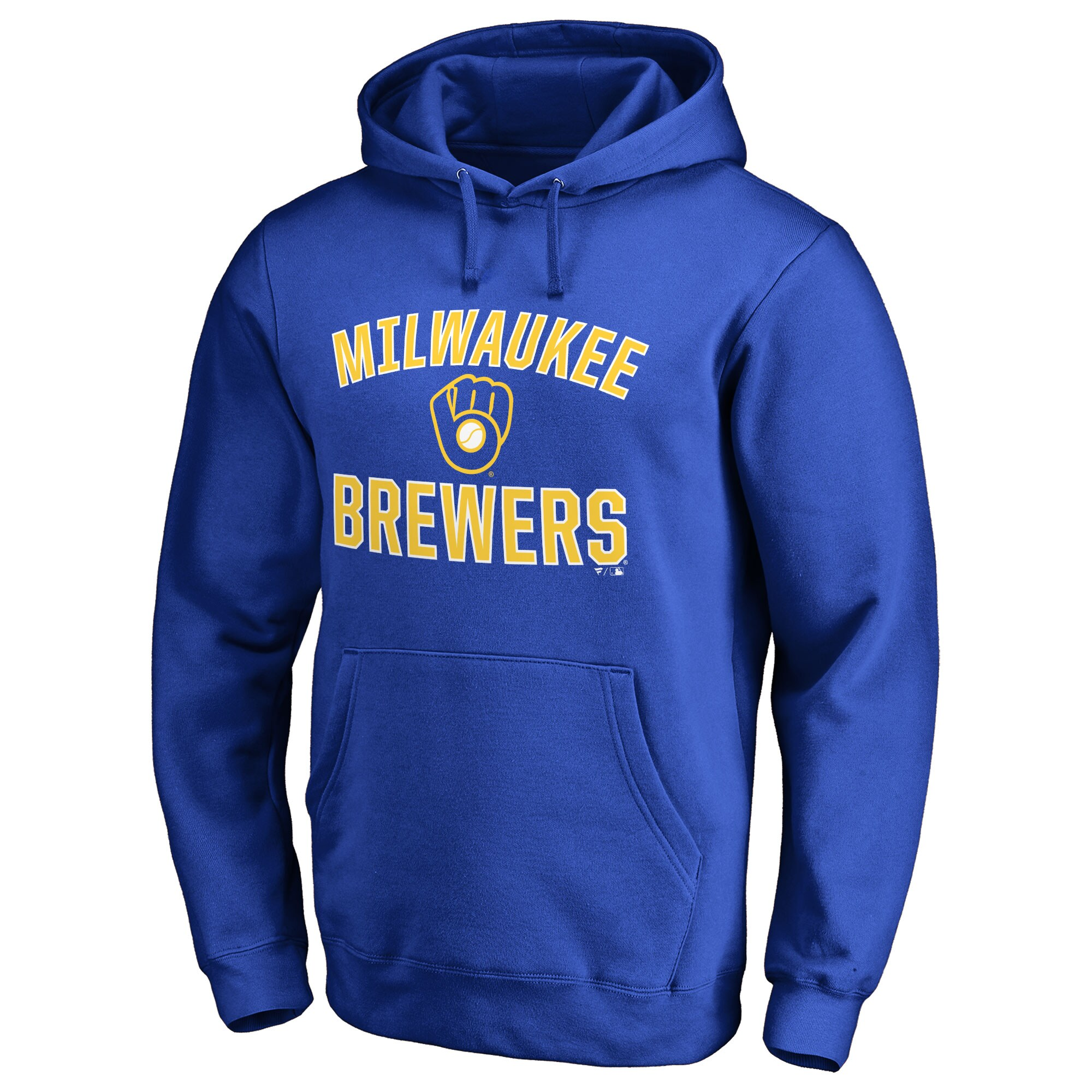 Milwaukee Brewers Victory Arch Pullover Hoodie - Royal