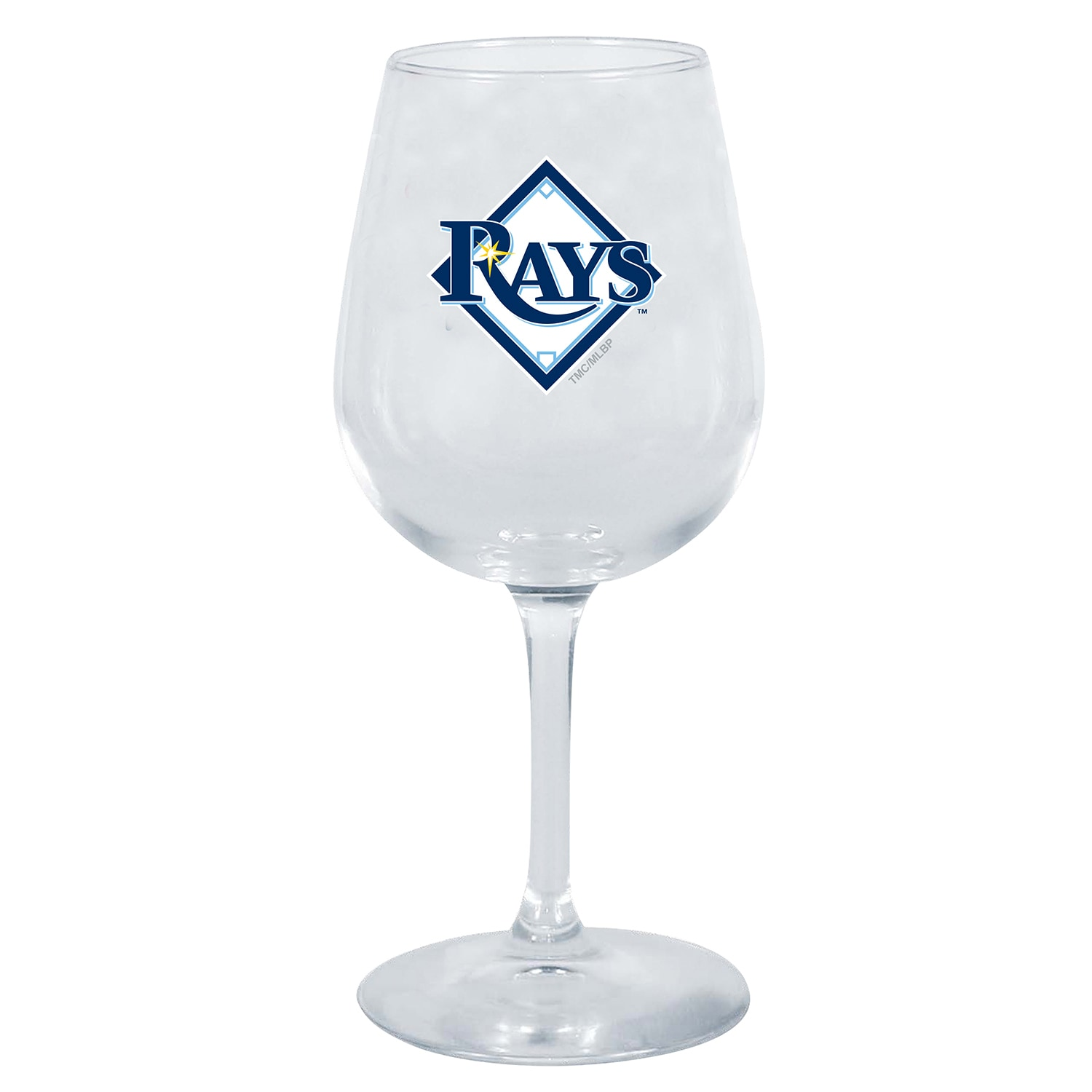 Tampa Bay Rays 12oz. Stemmed Wine Glass