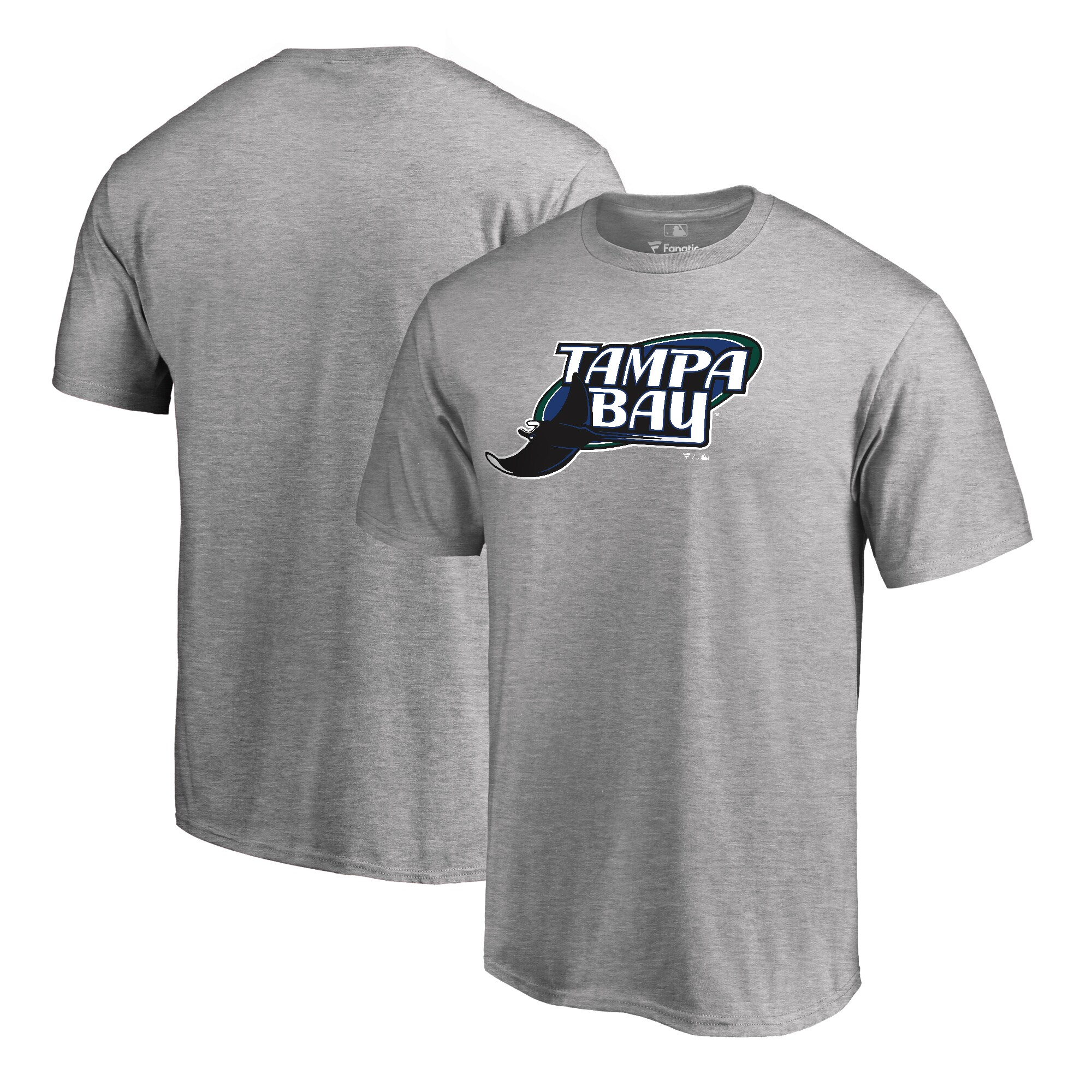 Tampa Bay Rays Fanatics Branded Cooperstown Collection Huntington T-Shirt - Ash