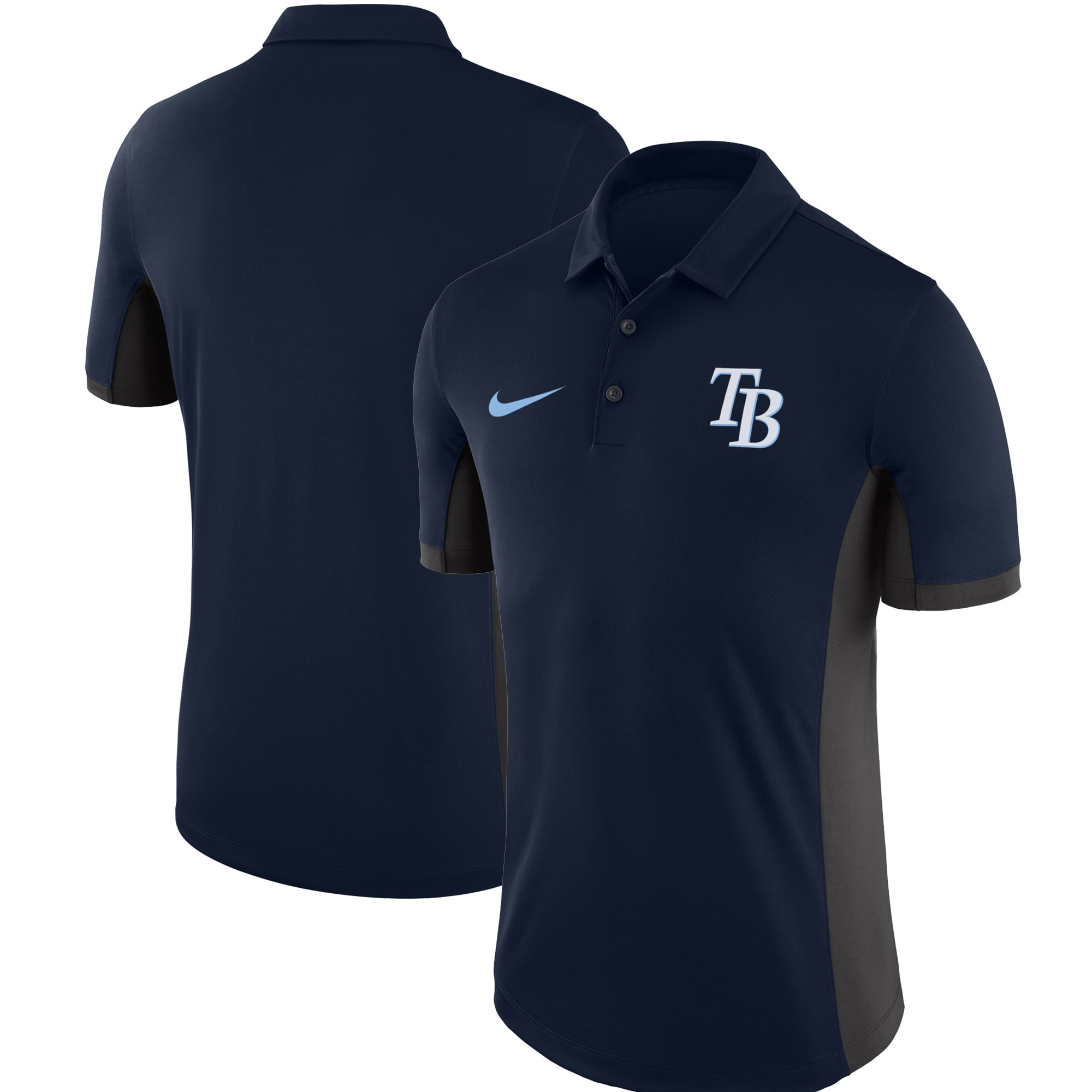 Tampa Bay Rays Nike Franchise Polo - Navy