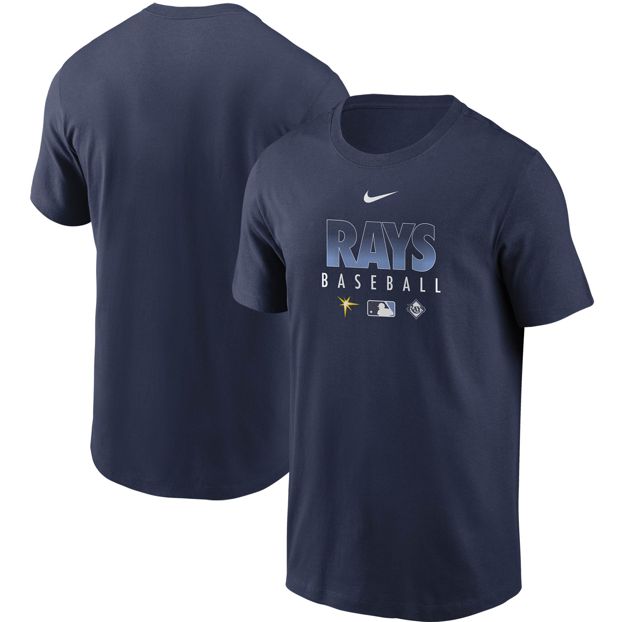 Tampa Bay Rays Nike Authentic Collection Team Performance T-Shirt - Navy