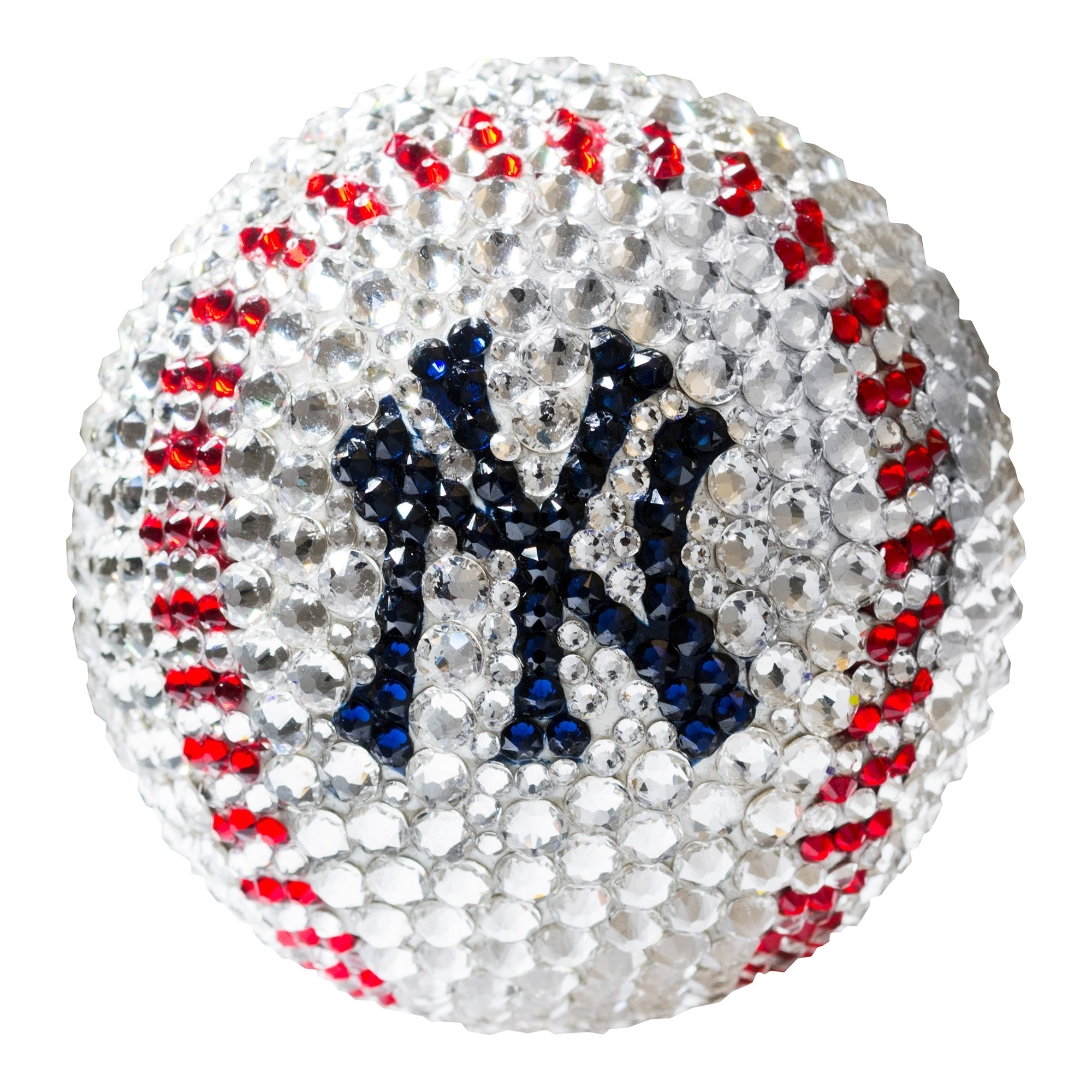 New York Yankees Crystal Baseball