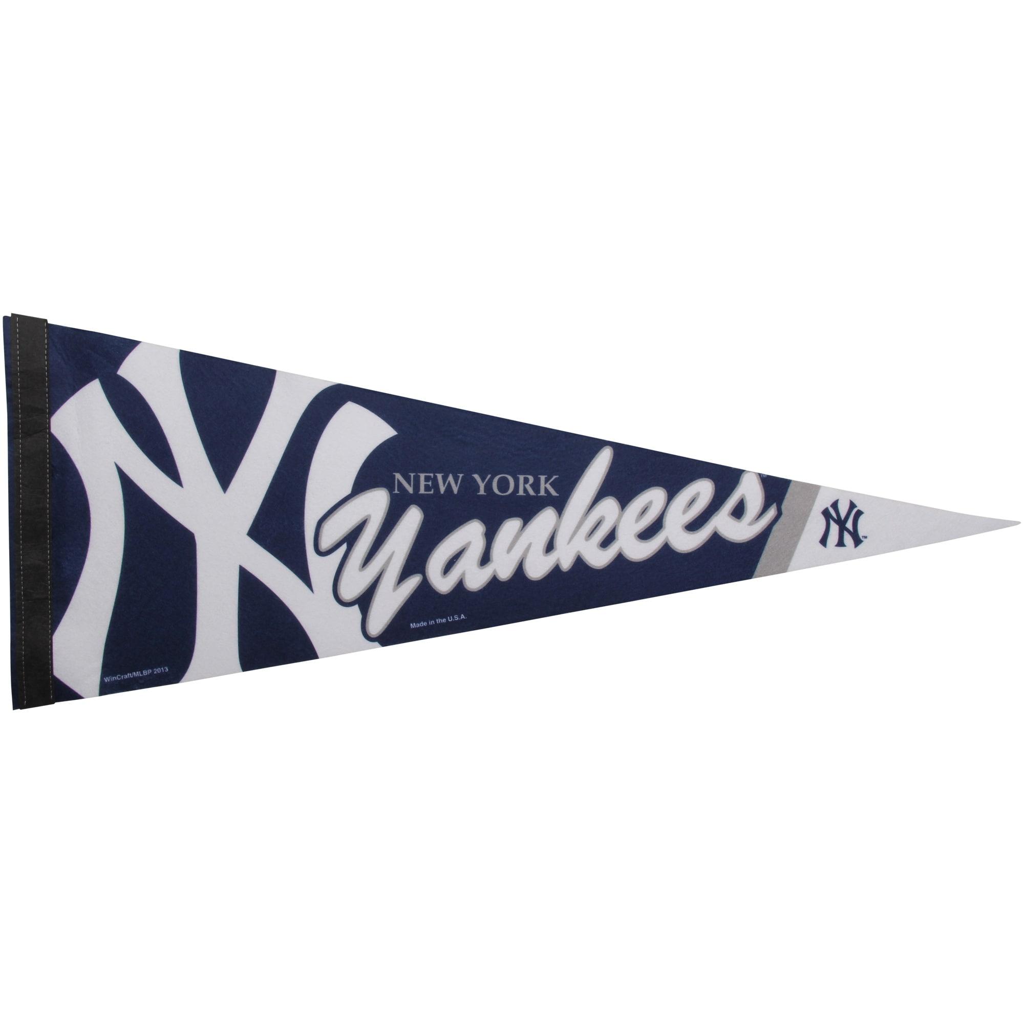 "New York Yankees WinCraft 12"" x 30"" Premium Pennant"