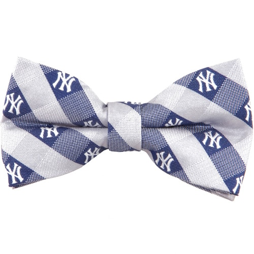 New York Yankees Check Bow Tie