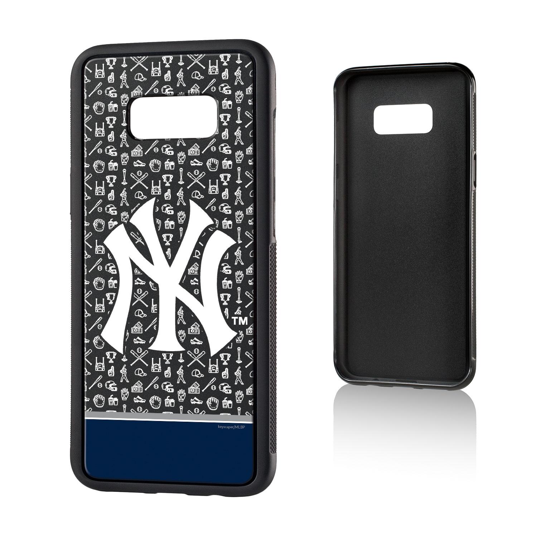 New York Yankees Galaxy S8 Plus Stripe Bump Case