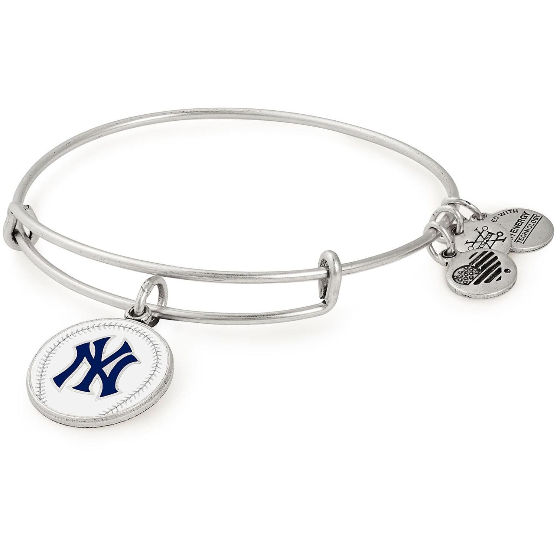 New York Yankees Alex & Ani Women's Stack Bracelet