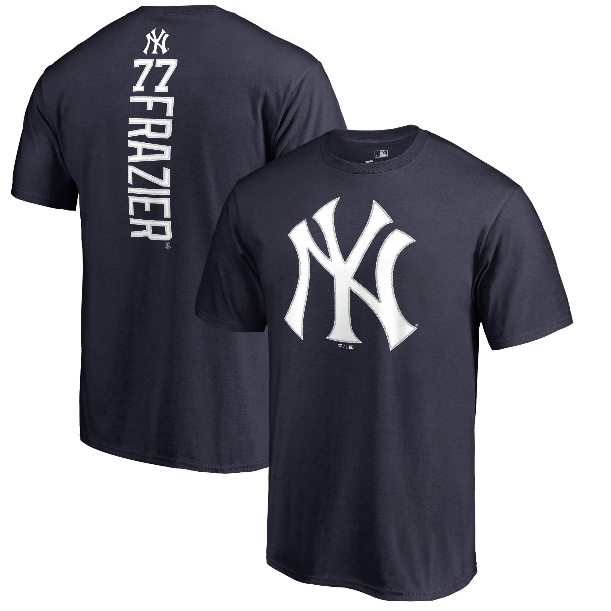 Clint Frazier New York Yankees Fanatics Branded Backer T-Shirt - Navy