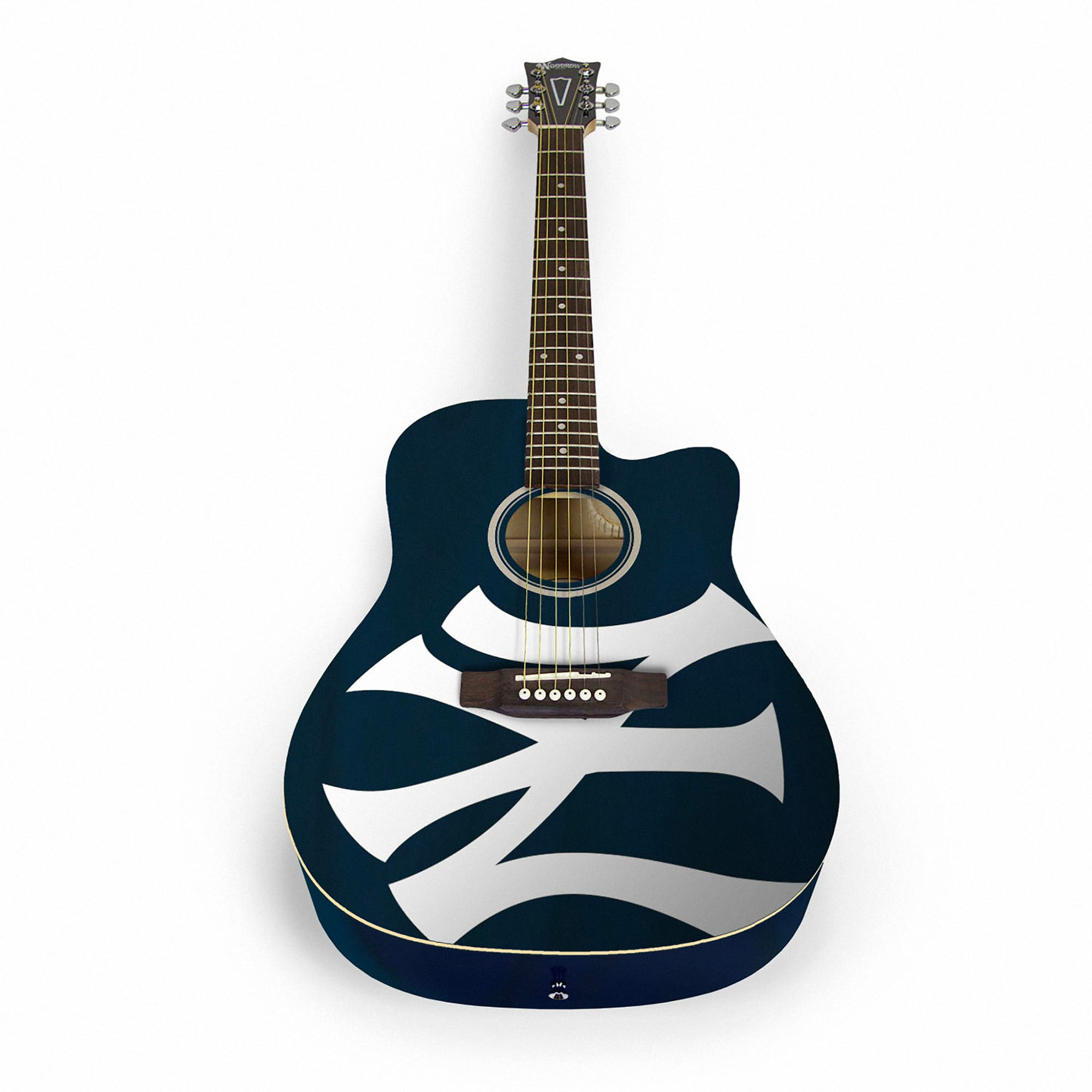 New York Yankees Woodrow Acoustic Guitar