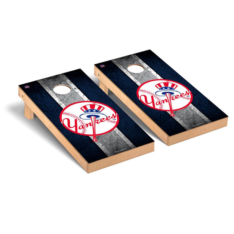 New York Yankees 2' x 4' Vintage Cornhole Board Tailgate Toss Set