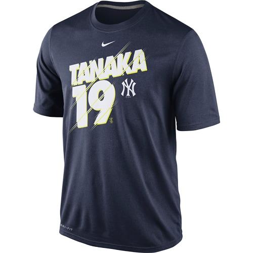 Masahiro Tanaka New York Yankees Nike Legend Speed Player T-Shirt - Navy -