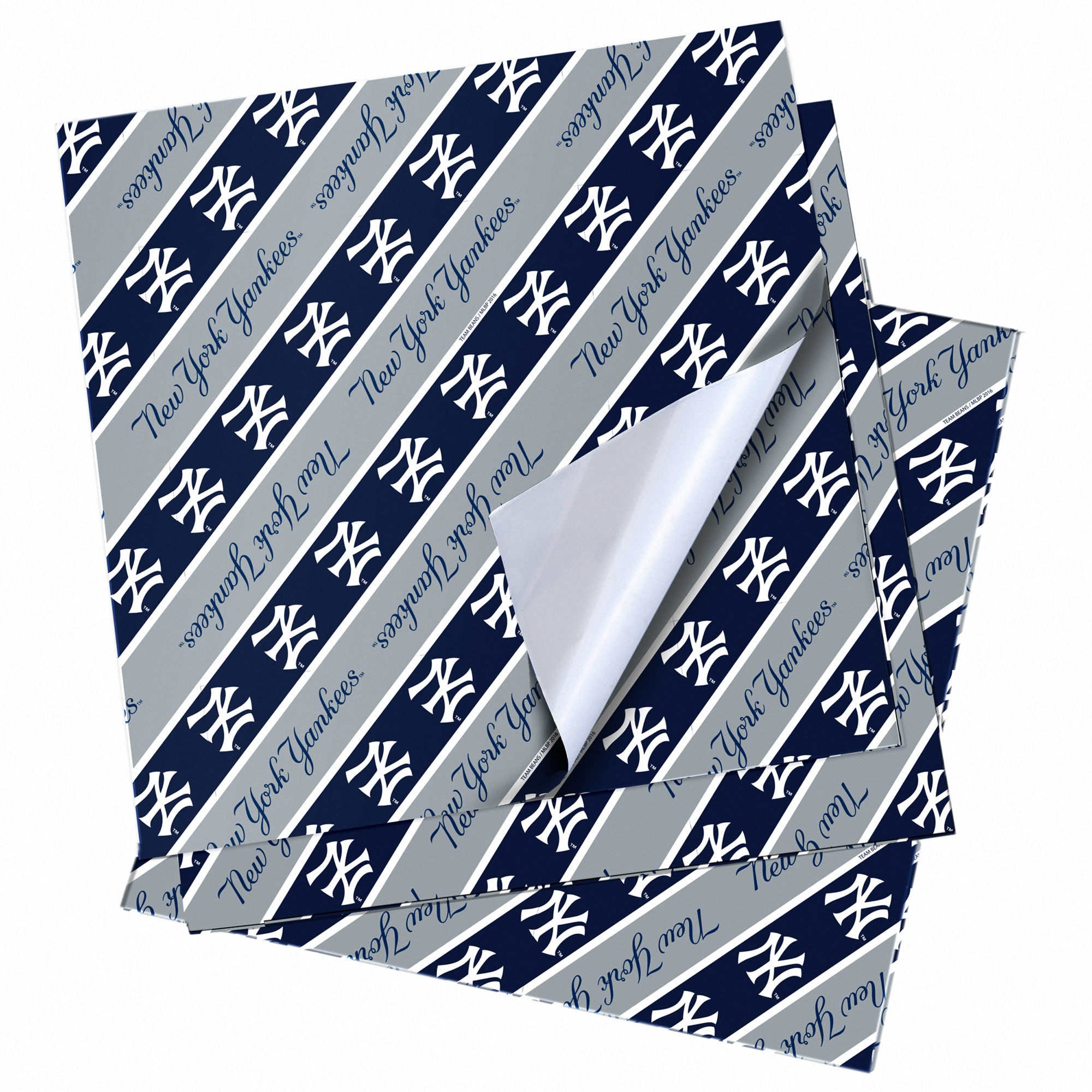 """New York Yankees 20"""" x 30"""" Wrapping Paper"""
