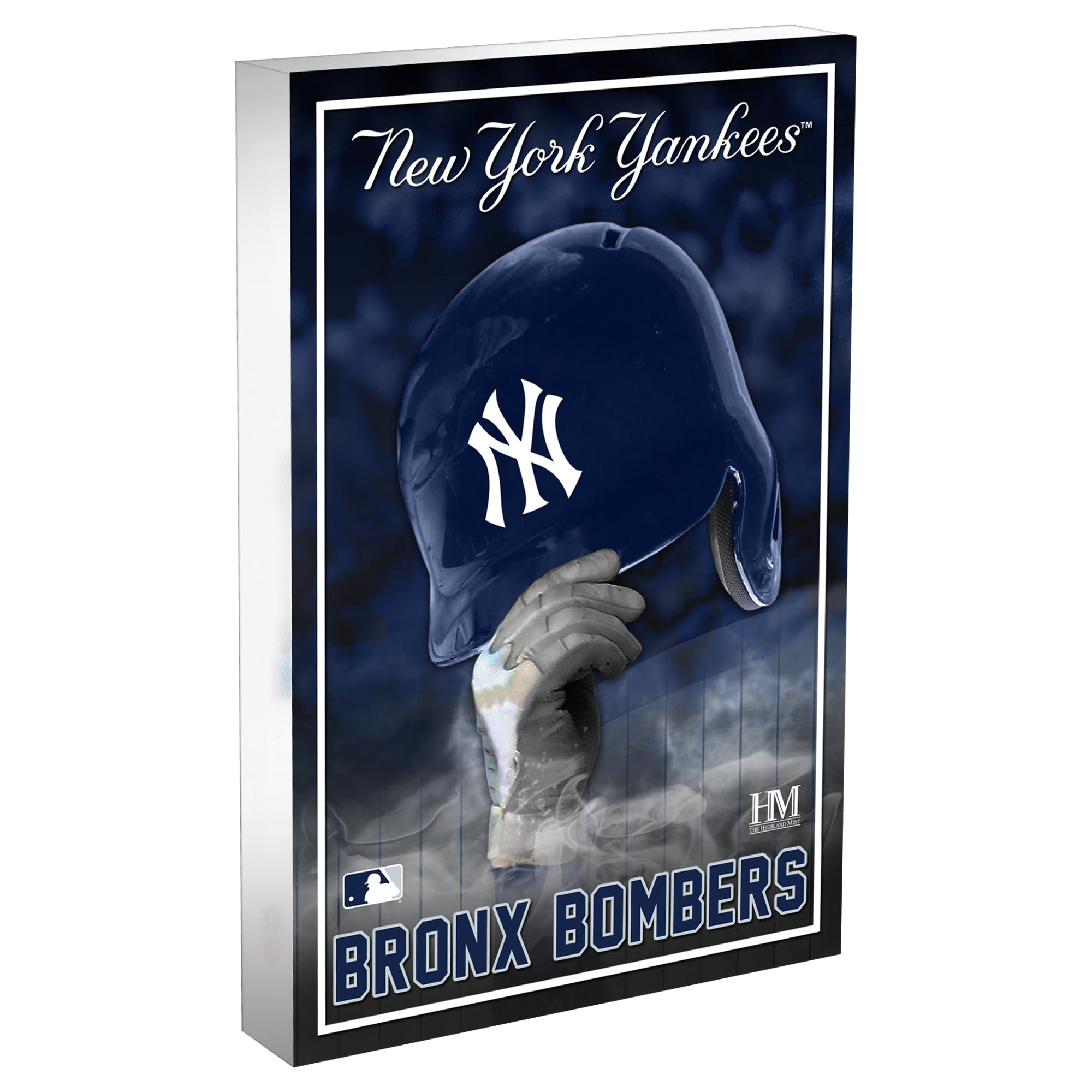 New York Yankees Highland Mint 4'' x 6'' Team Pride Acrylic 3D Block Photo