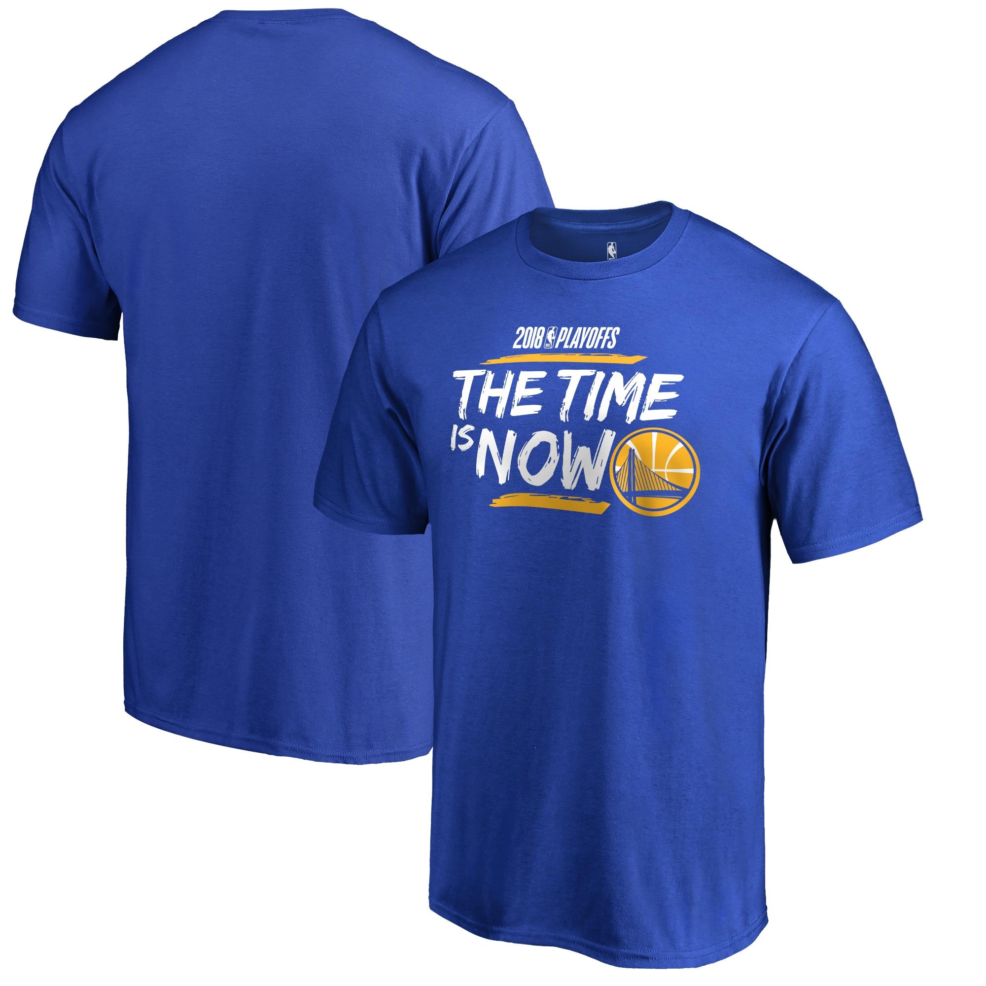 Golden State Warriors Fanatics Branded 2018 NBA Playoffs Bet Slogan Big & Tall T-Shirt - Royal