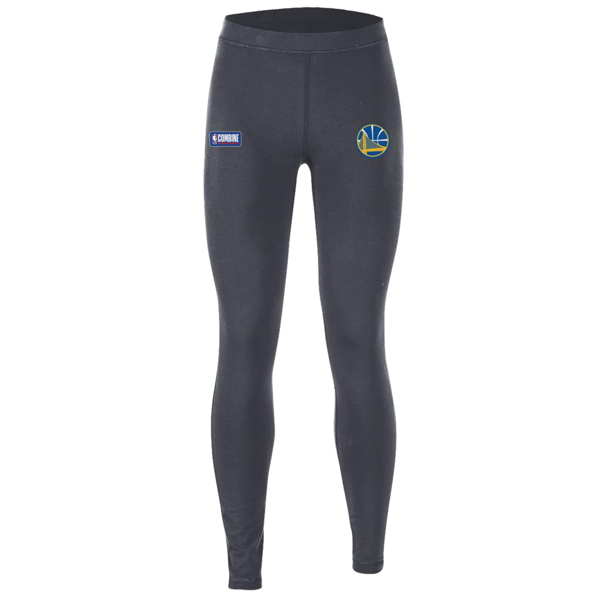 Golden State Warriors Under Armour Women's Combine Authentic Favorites Performance Leggings - Heathered Charcoal
