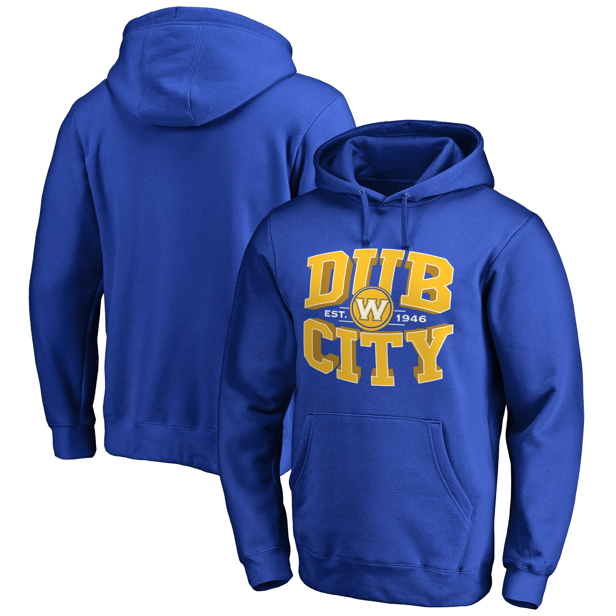 Golden State Warriors Fanatics Branded Dub City Hometown Collection Pullover Hoodie - Royal