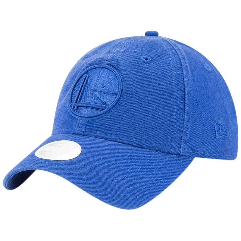 Golden State Warriors New Era Women's Core Classic Tonal Team 9TWENTY Adjustable Hat - Royal