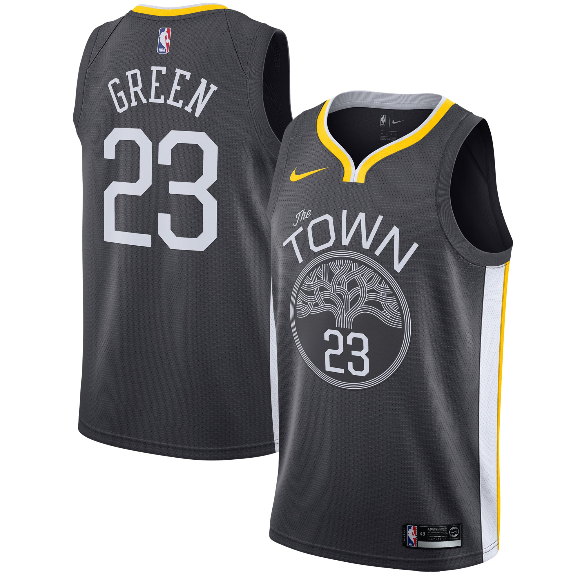 Draymond Green Golden State Warriors Nike Swingman Jersey - Statement Edition - Black
