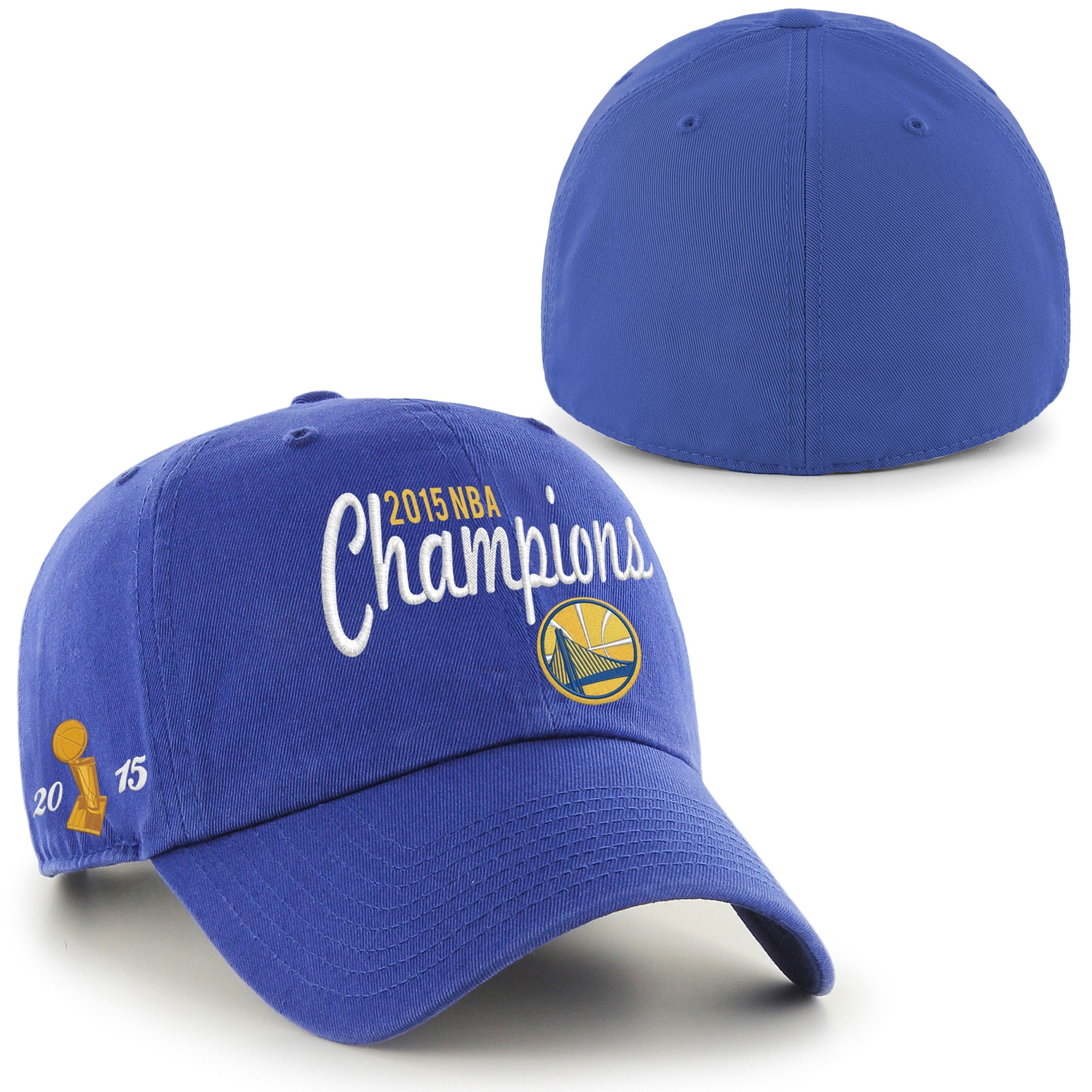 Golden State Warriors '47 Brand 2015 NBA Finals Champions Franchise Fitted Hat - Royal